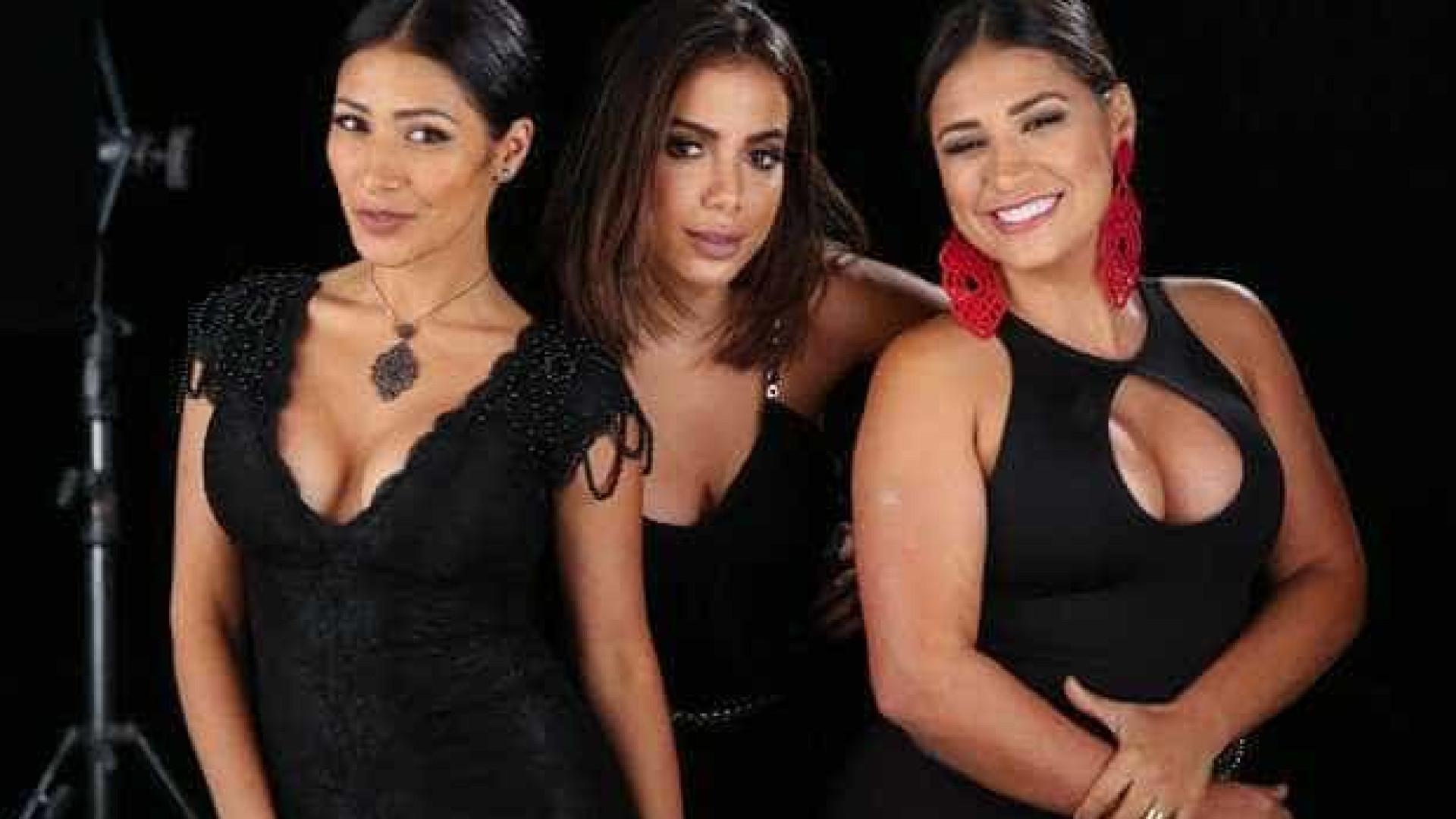 Simone e Simaria gravam clipe sensual ao lado de Anitta