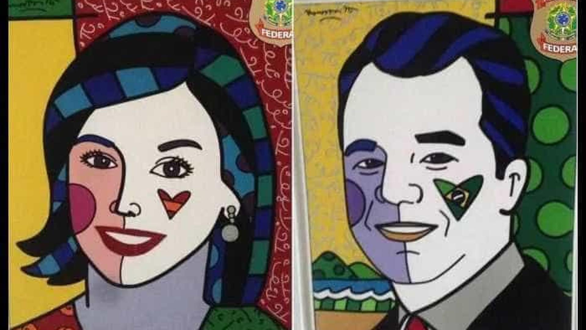 Romero Britto se pronuncia sobre quadros de Sérgio Cabral