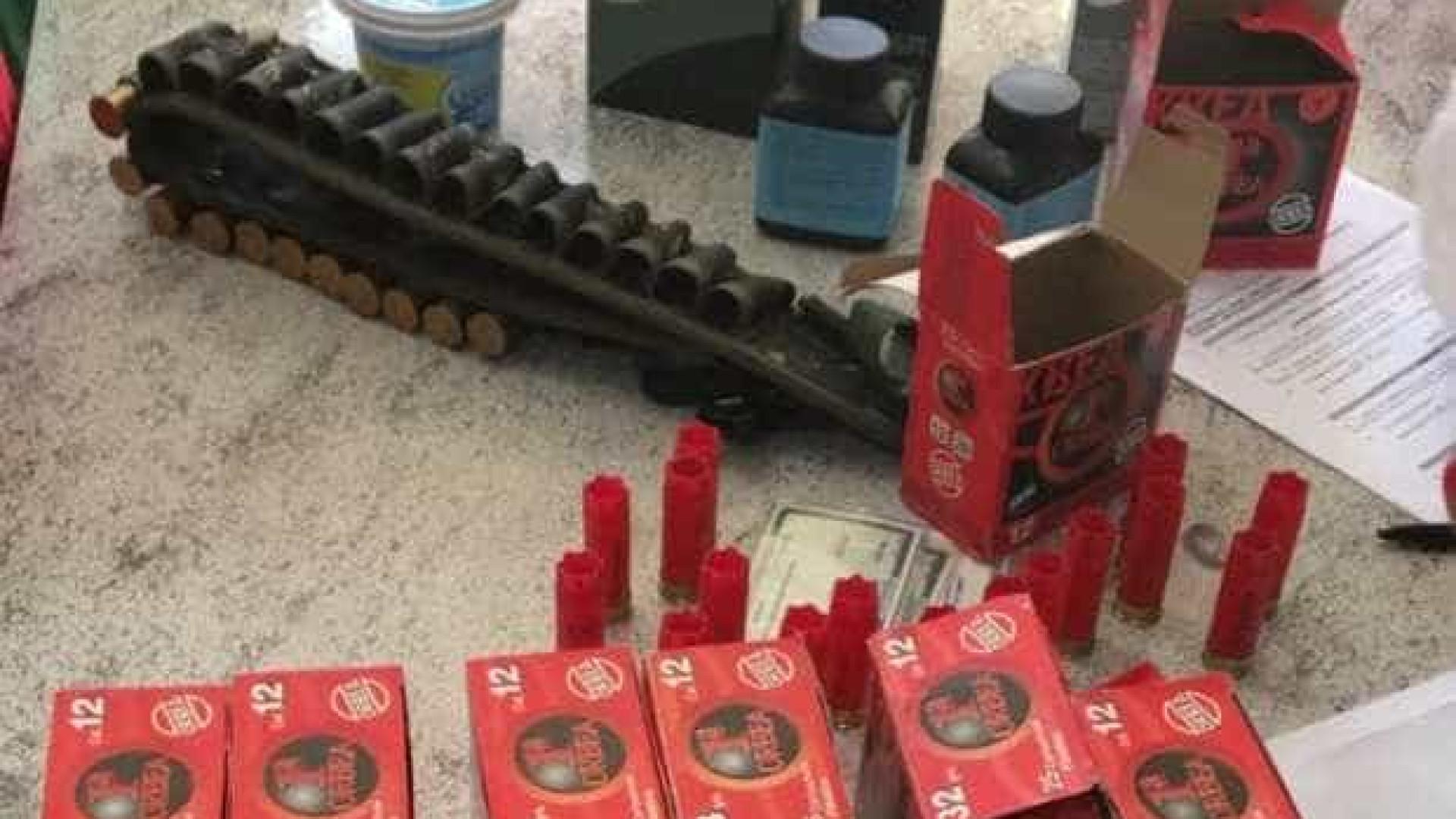 Polícia Federal apreende armas e munição de criminosos no RS