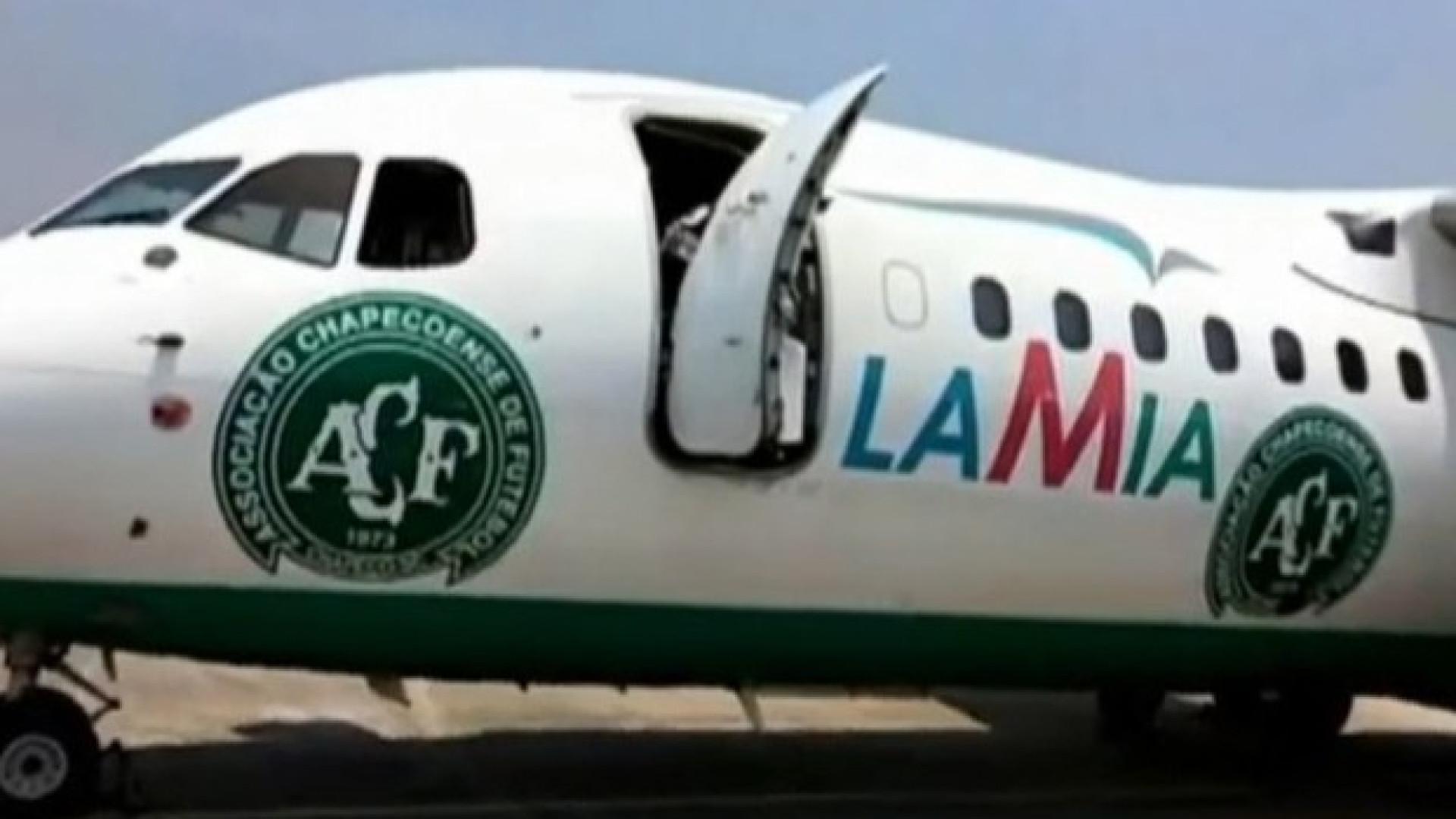 Chapecoense pagou 130 mil dólares por  voos, diz diretor da Lamia