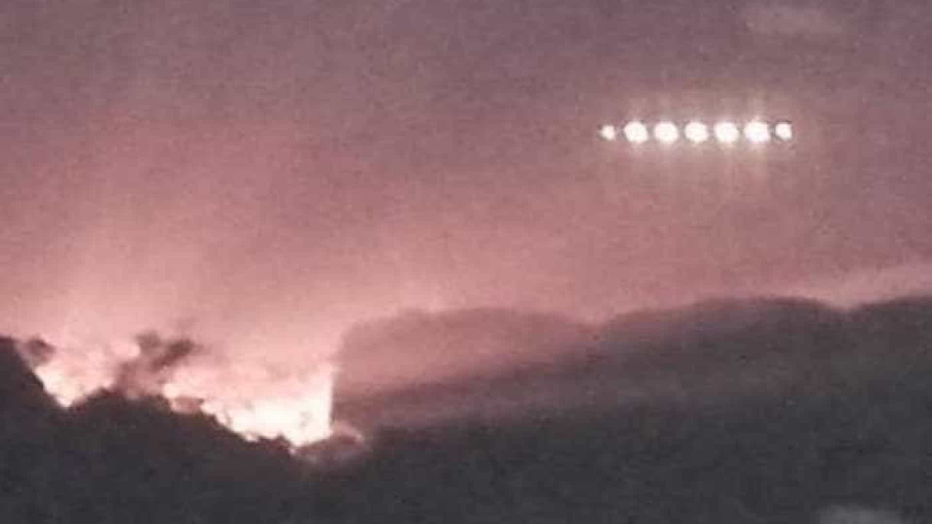 "Homem flagra ""nave alienígena"" sobrevoando na Irlanda"