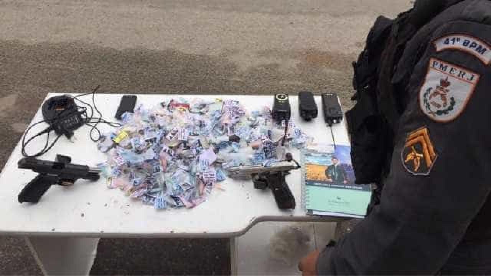 Três suspeitos são baleados durante operação da Polícia Militar