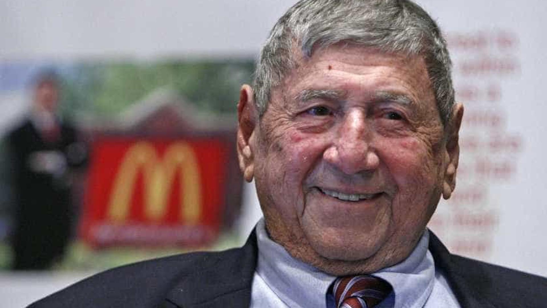 Criador do Big Mac morre aos 98 anos