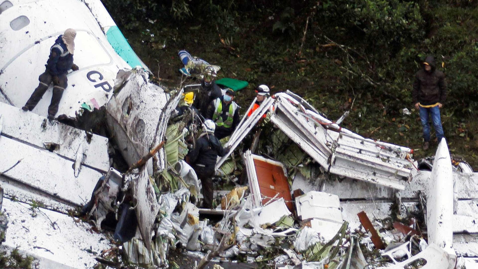Avião não tinha combustível, afirma Aeronáutica colombiana