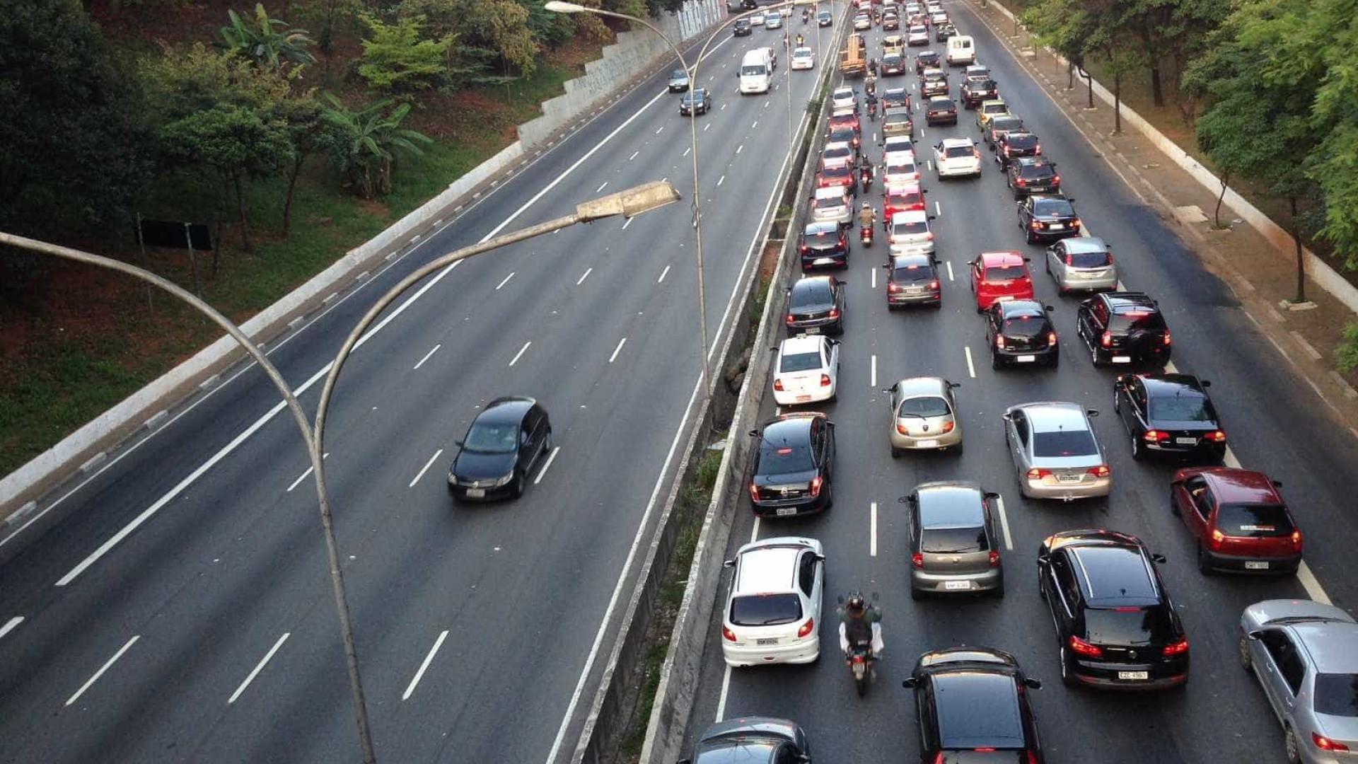 Paulistano passa 10 minutos a menos no trânsito em 2018