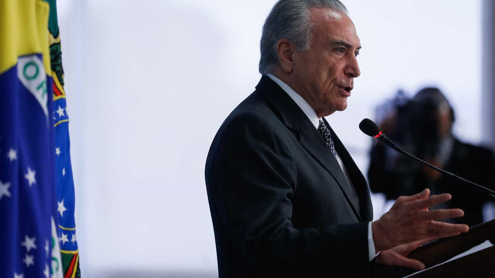 Temer rompe silêncio sobre Manaus e  fala em 'acidente pavoroso'