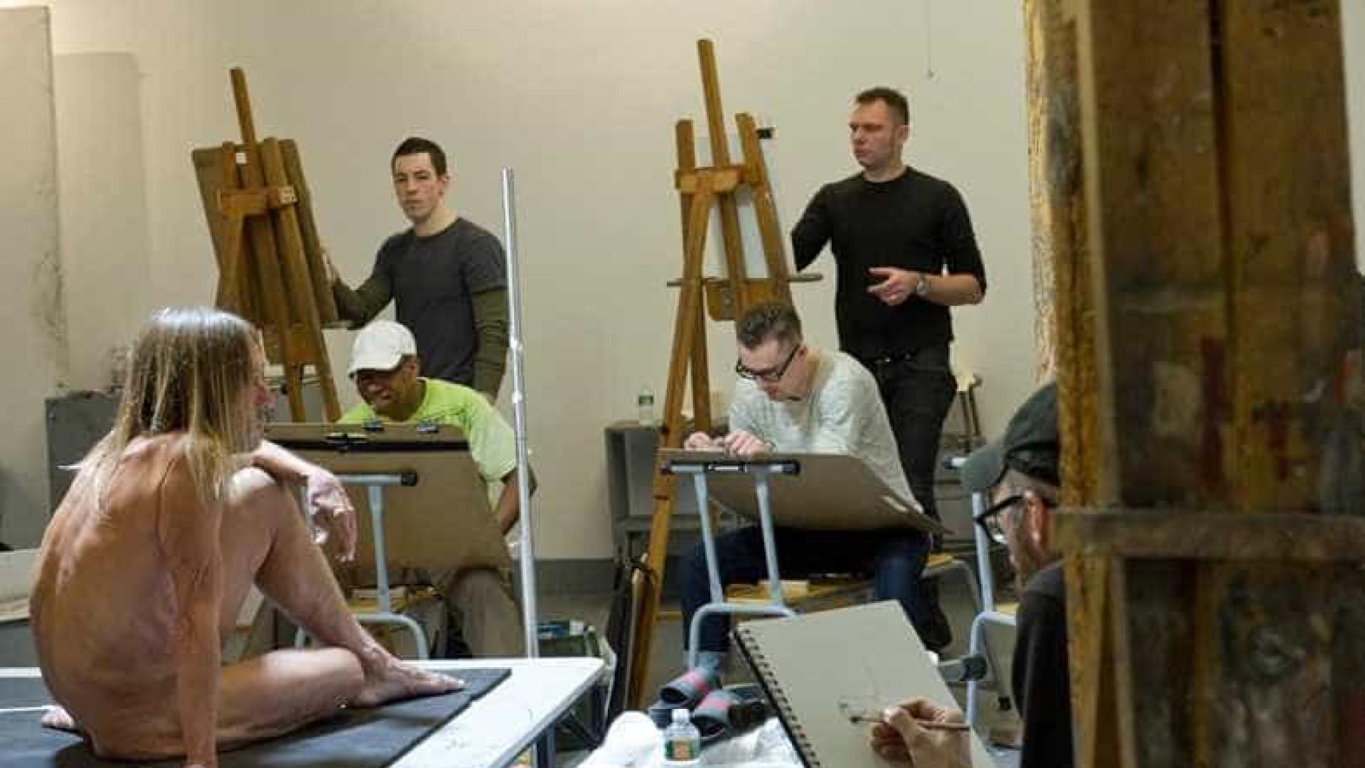 Mostra em NY expõe desenhos de Iggy Pop nu