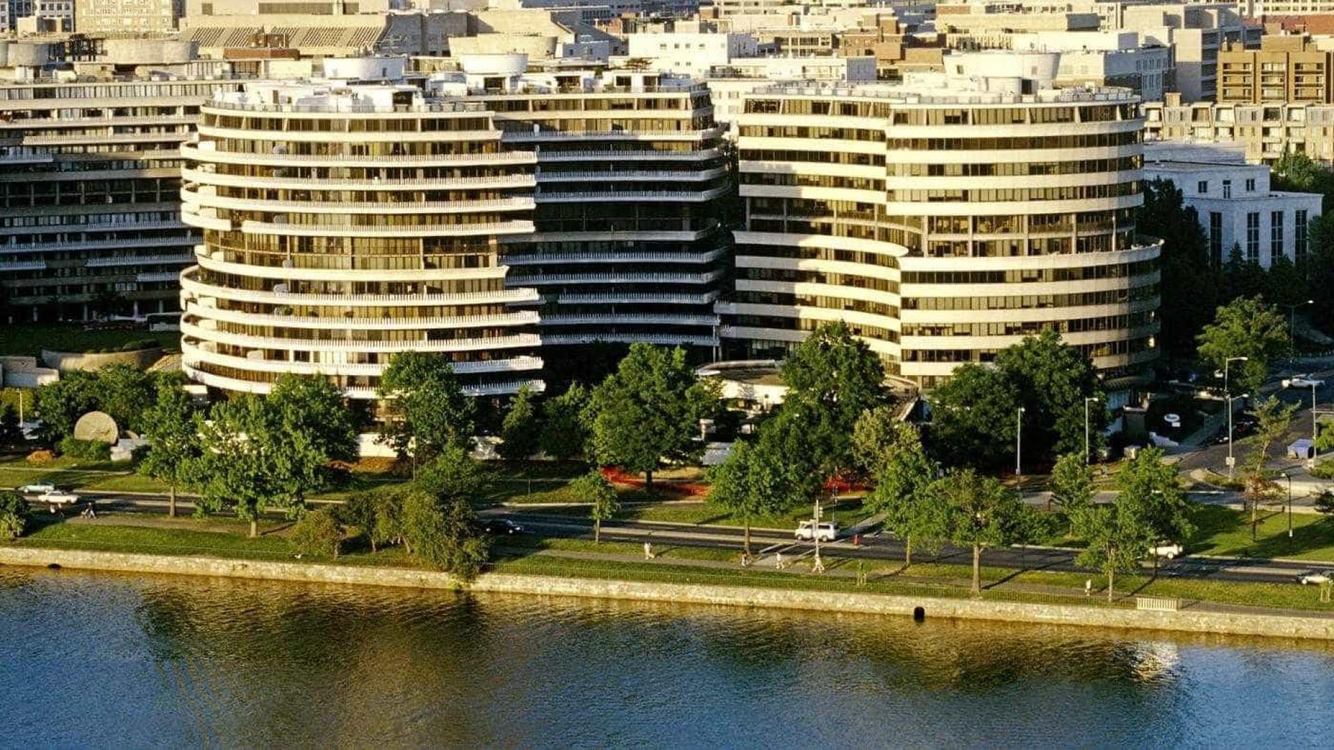 Incêndio é registrado no  complexo de edifício de Watergate