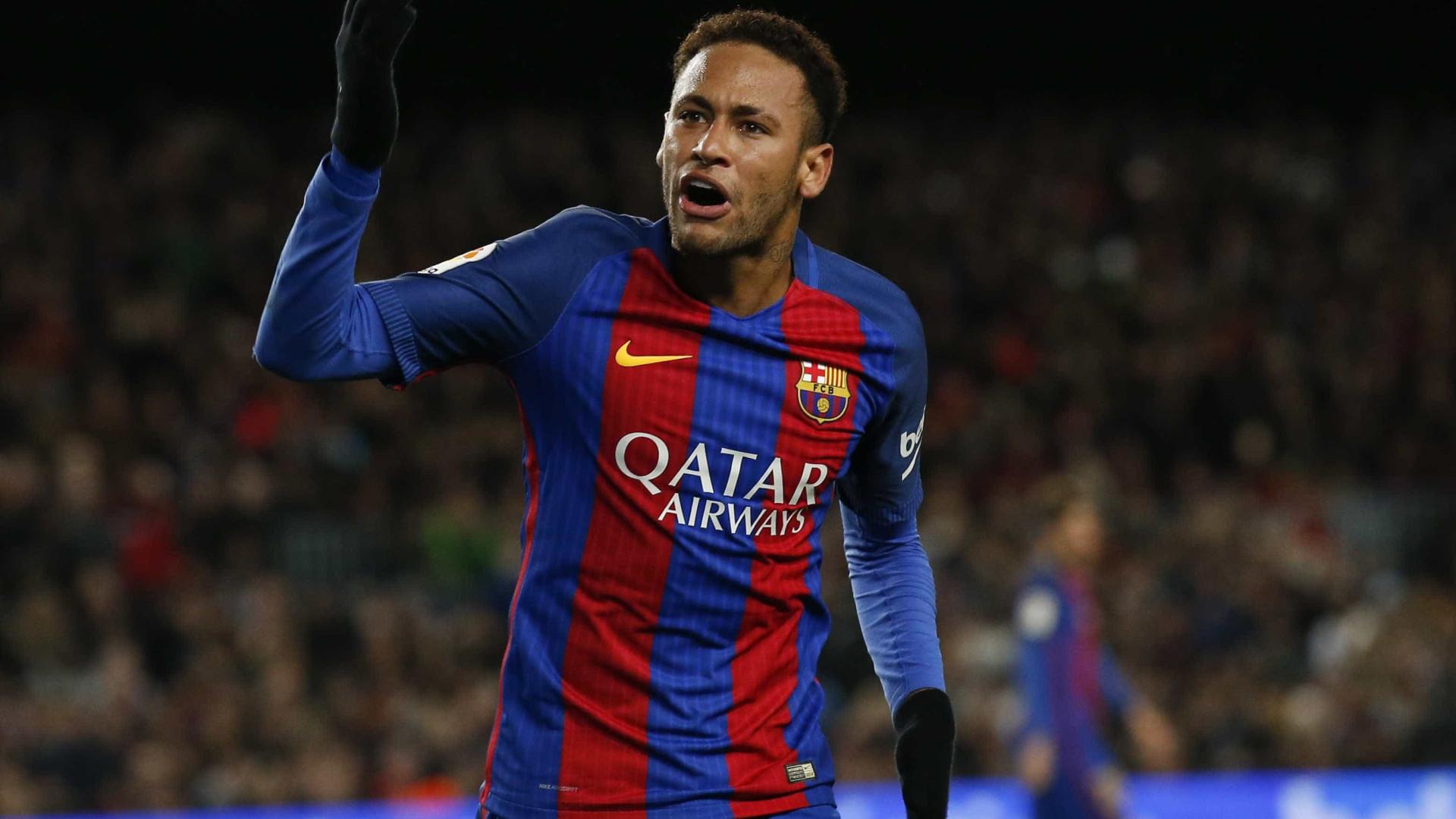 Neymar quebra jejum de gols e Barcelona segue na Copa do Rei