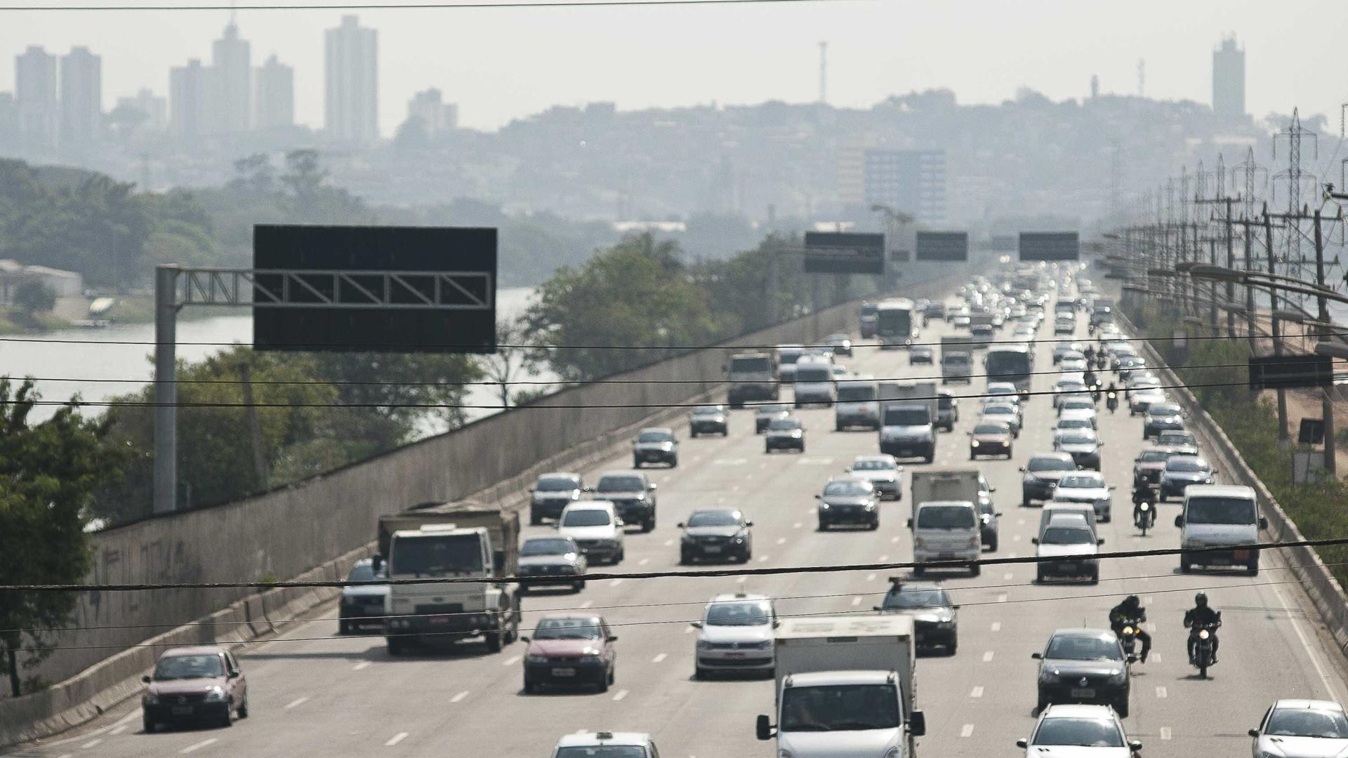 Rodízio de veículos em SP volta a vigorar na próxima segunda-feira