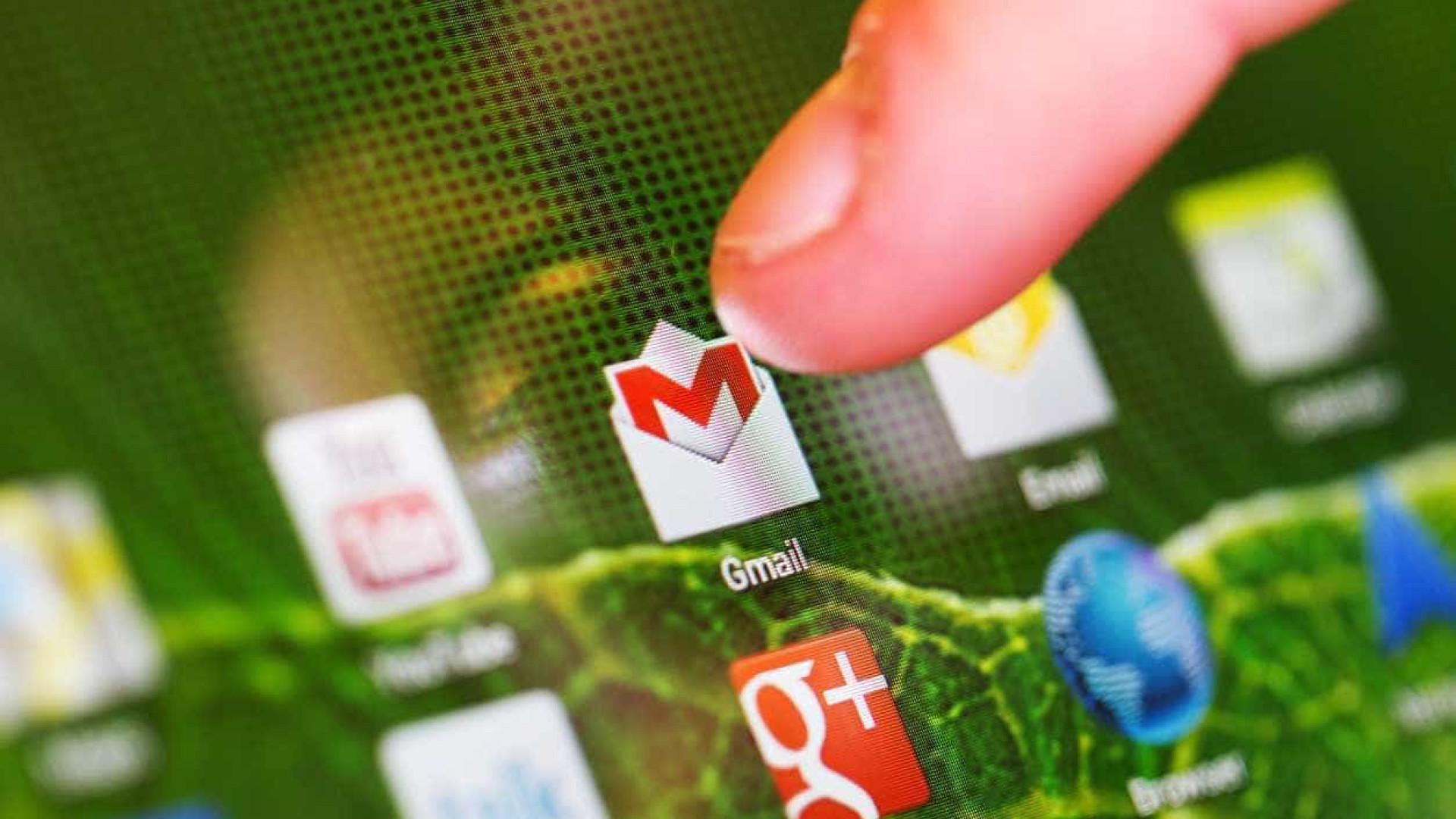 Google trabalha em novo design para versão web do Gmail
