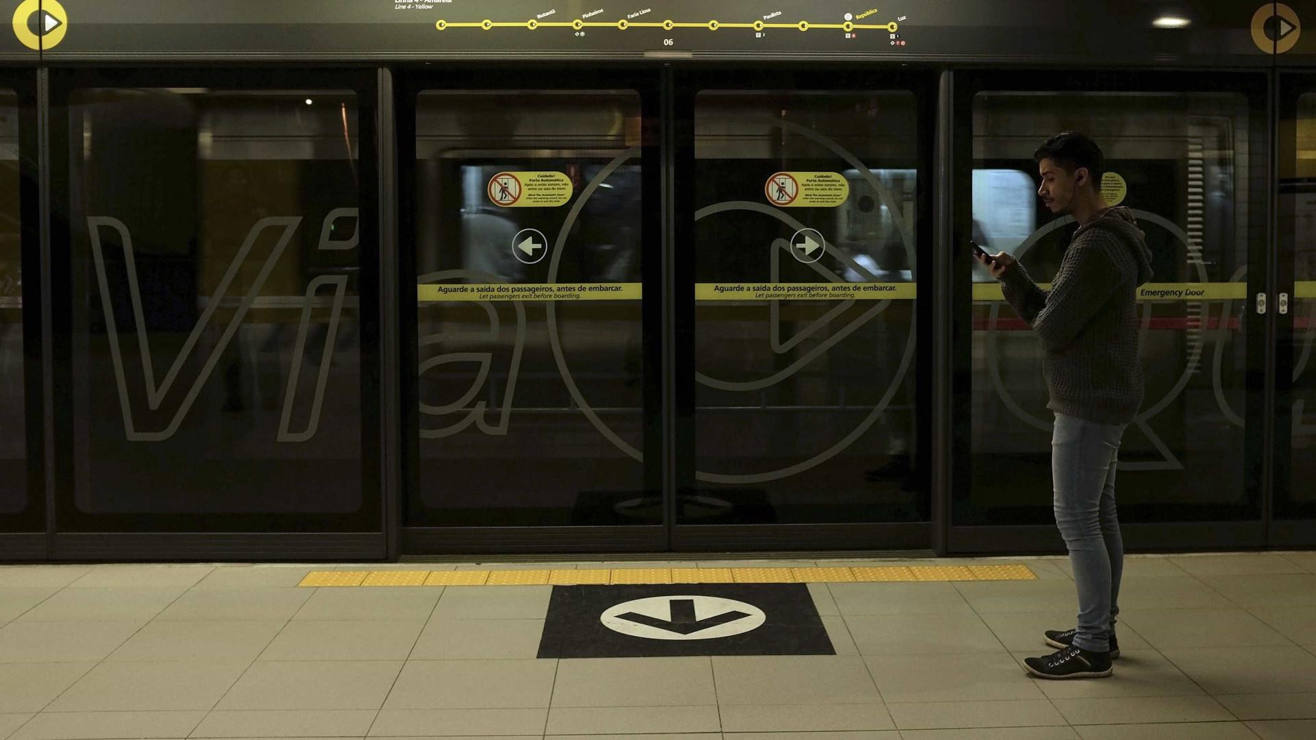 SP: mulher empurrada nos trilhos do metrô recebeu alta no mesmo dia