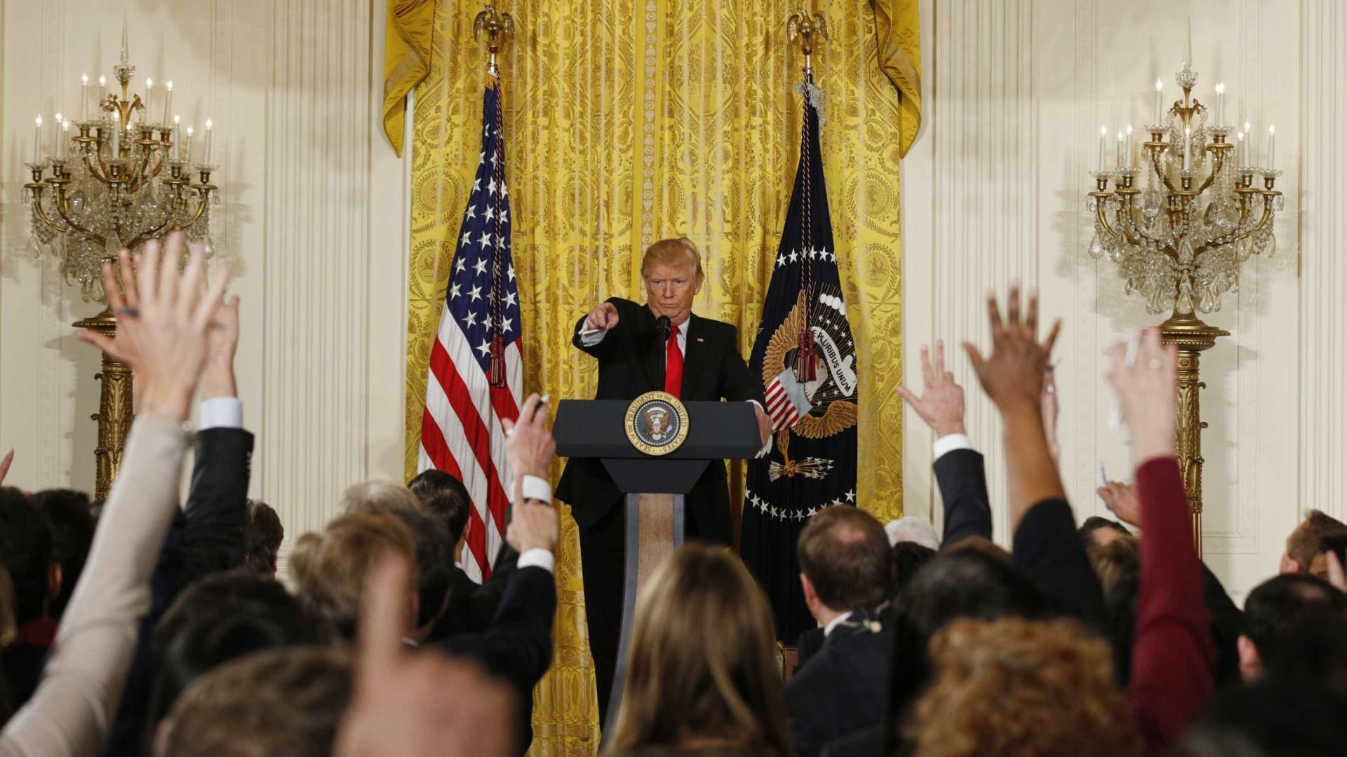 Imprensa norte-americana responde  às críticas feitas por Trump