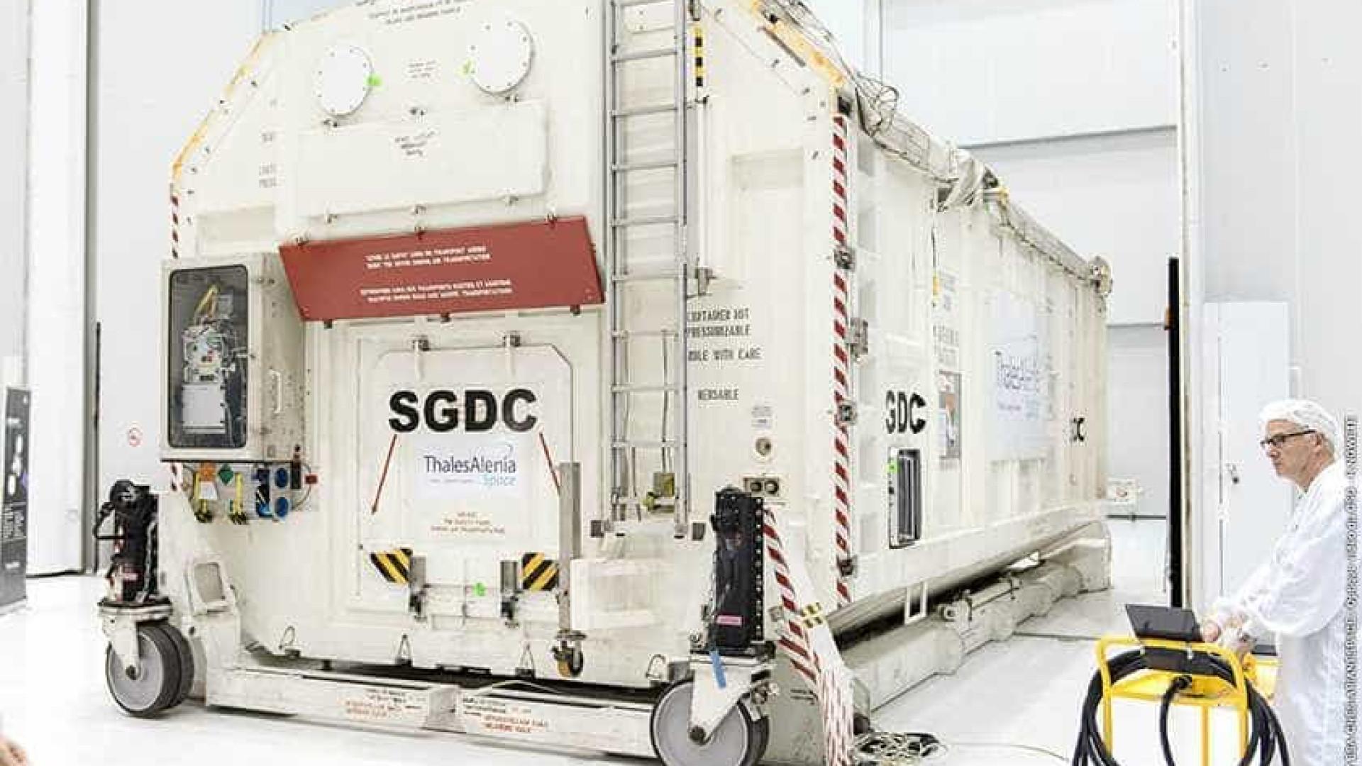 1º satélite geoestacionário do país passa por teste