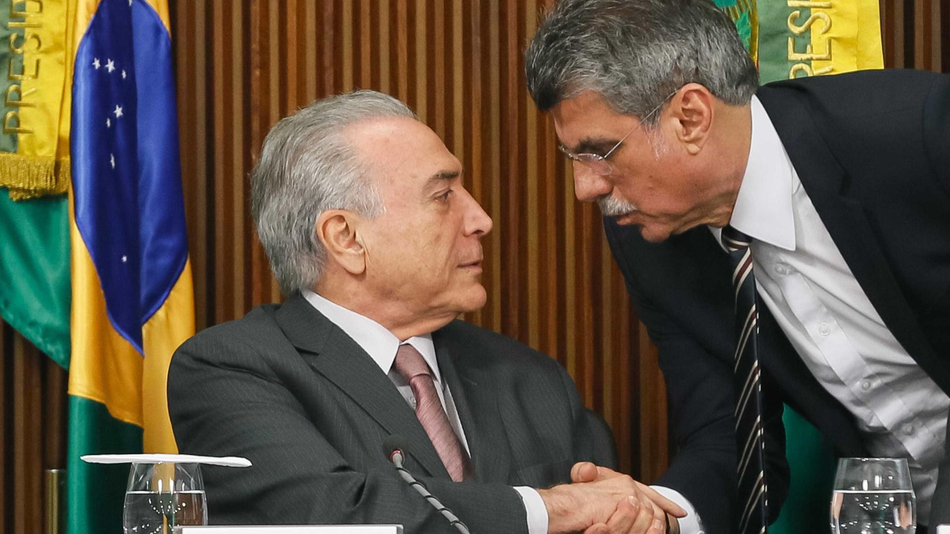 Temer é Tite e Dilma é Dunga  na seleção, compara Jucá