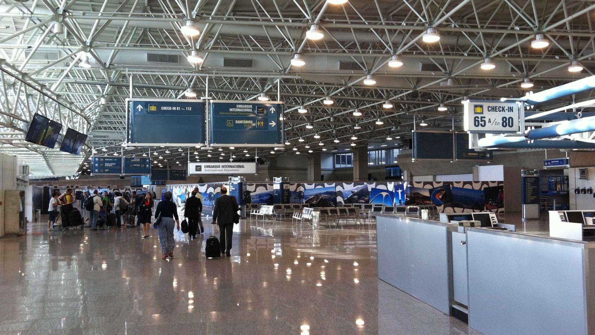 Lojas francas de aeroportos querem aumento dolimitedaisenção