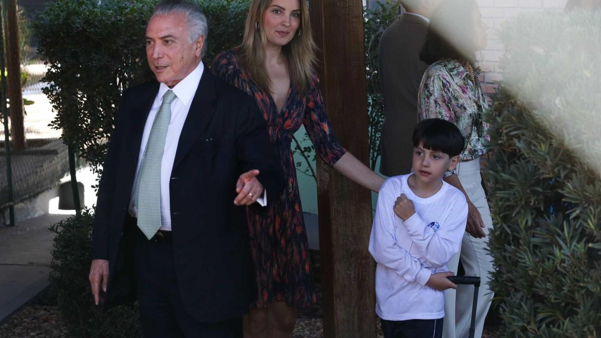 Babá de Michelzinho tem cargo em  escritório estratégico do governo