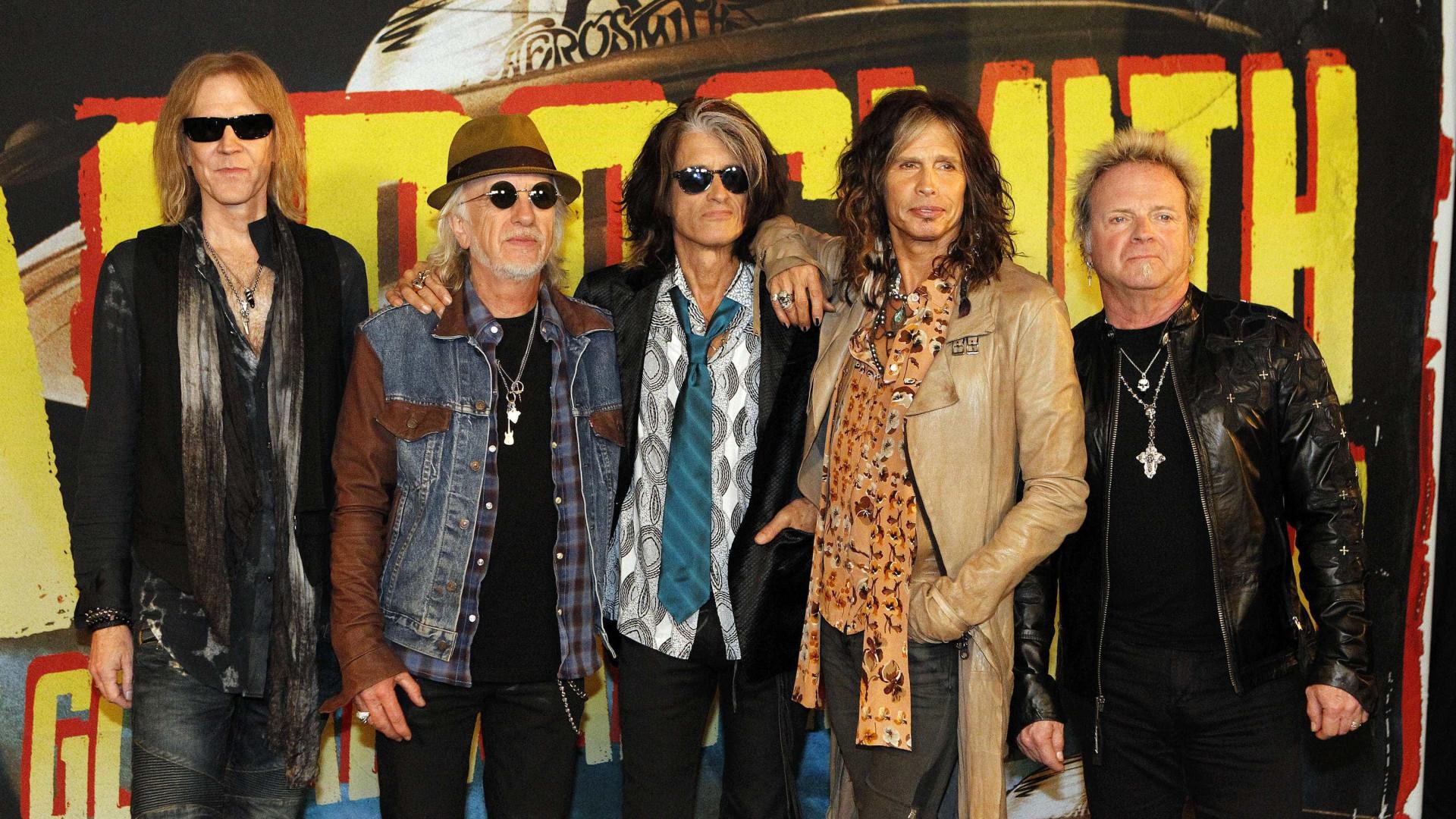 No camarim do RiR, Aerosmith pede picanha, arroz, feijão e farofa