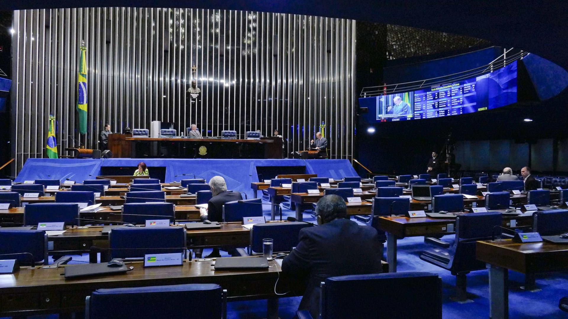 A seis meses das eleições, bancadas no Senado têm nova configuração