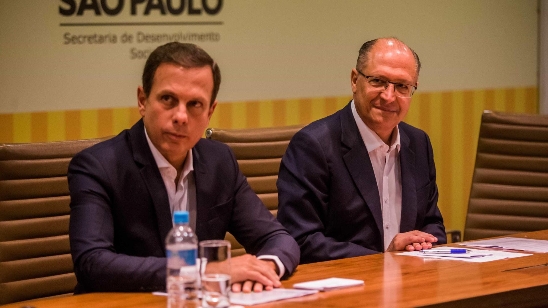 Doria e Alckmin defendem desembarque do PSDB após reformas