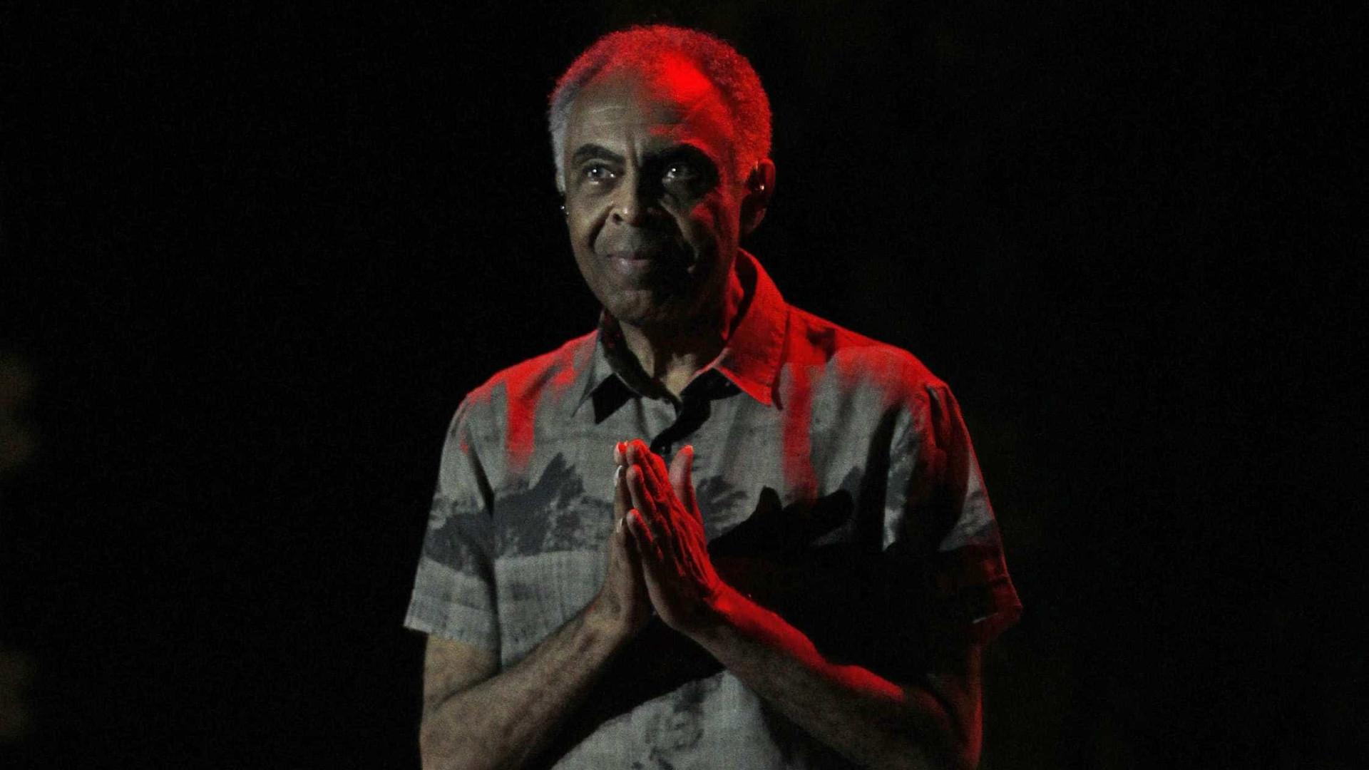 """Gilberto Gil está """"melhor do que eu"""", diz cardiologista"""
