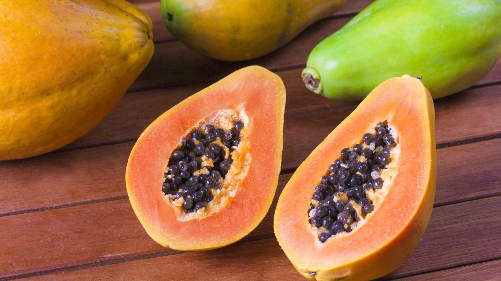 Mamão papaia tem ação anticancerígena, aponta estudo da USP