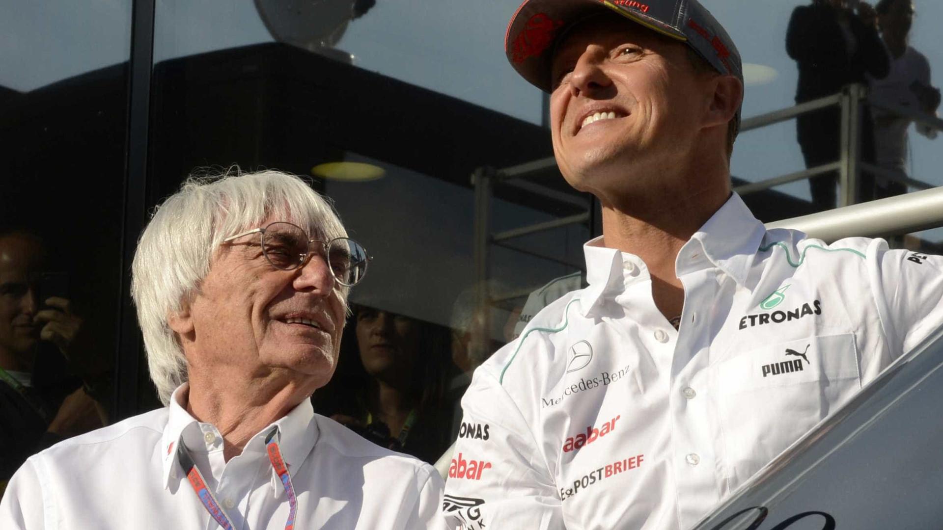Ex-chefe da F1 diz não querer lembrar de Schumi como ele está agora