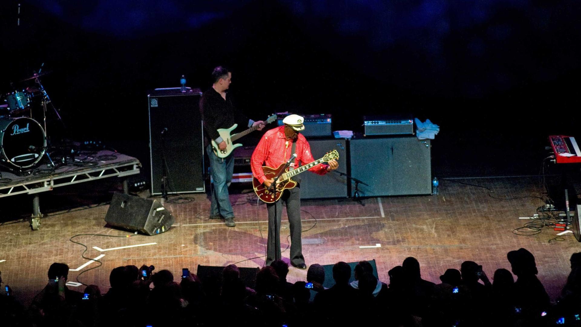 Álbum de inéditas de Chuck Berry será  lançado ainda este ano