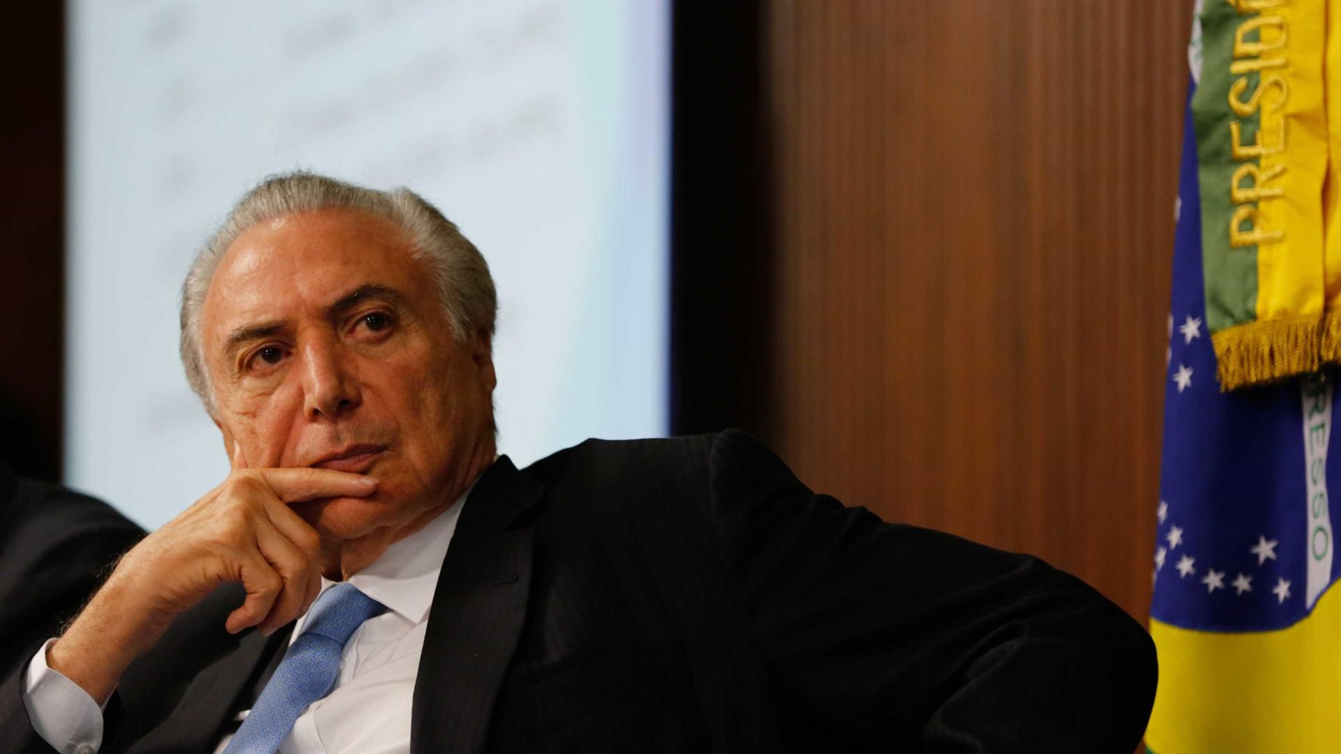 STF aceita ação para destravar pedido  de impeachment de Temer