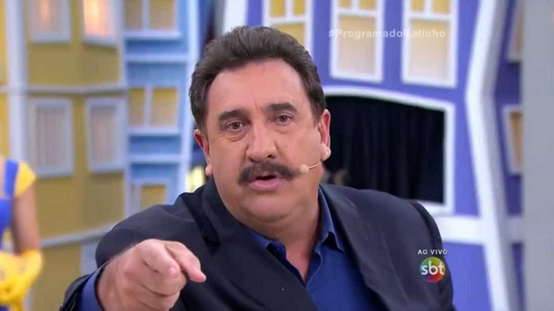 Ratinho polemiza ao dizer que novelas da Globo 'têm muito viado'
