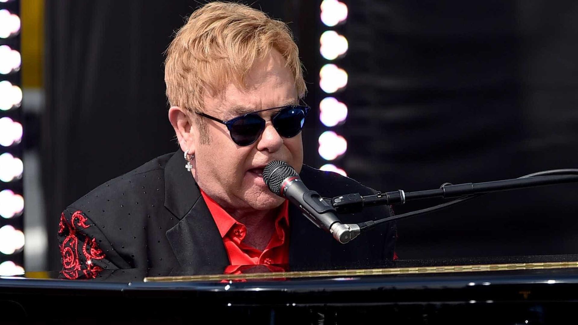 Elton John cantará no casamento de Harry e Meghan