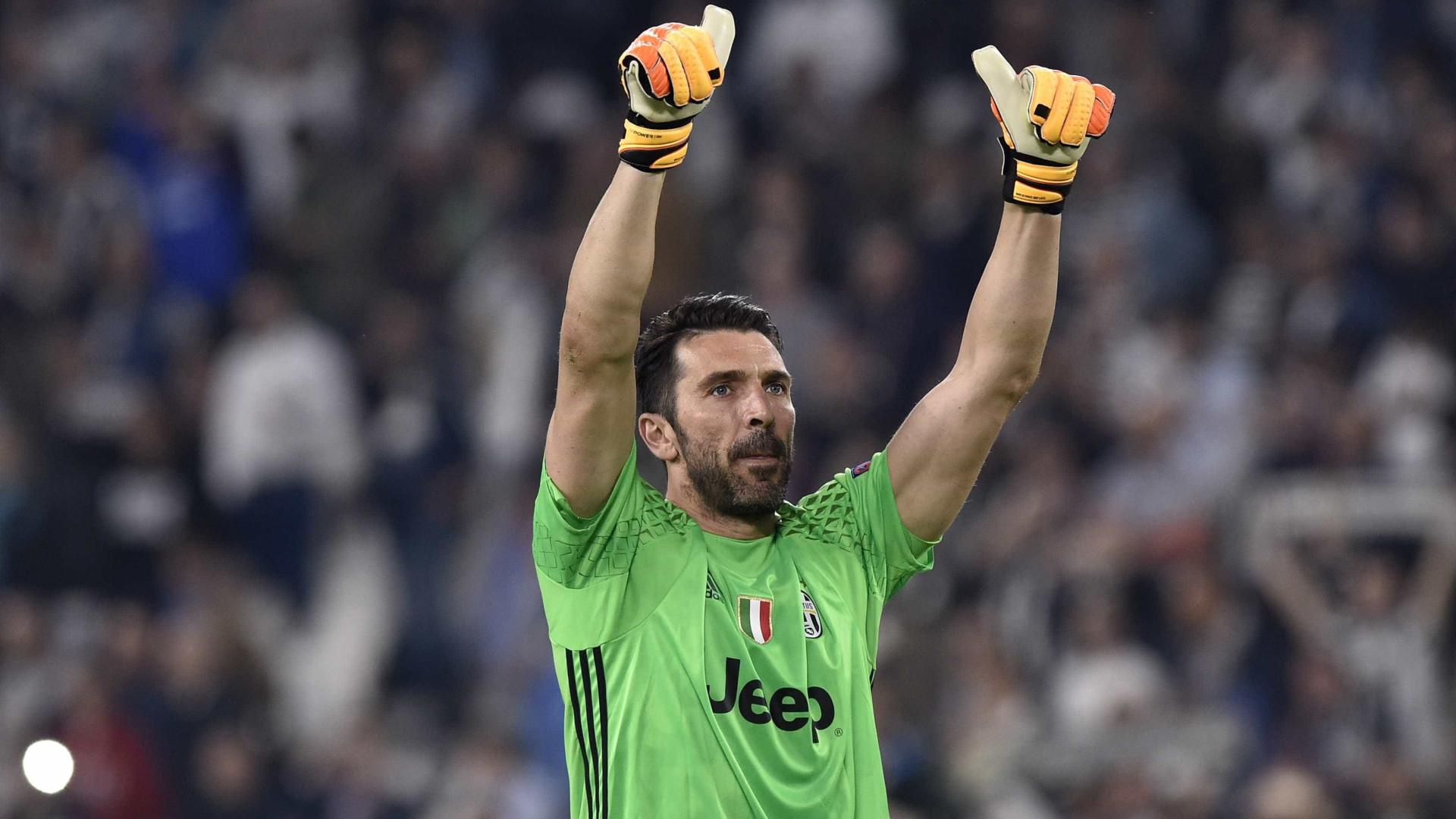Buffon, aos 40 anos, está de volta à seleção italiana