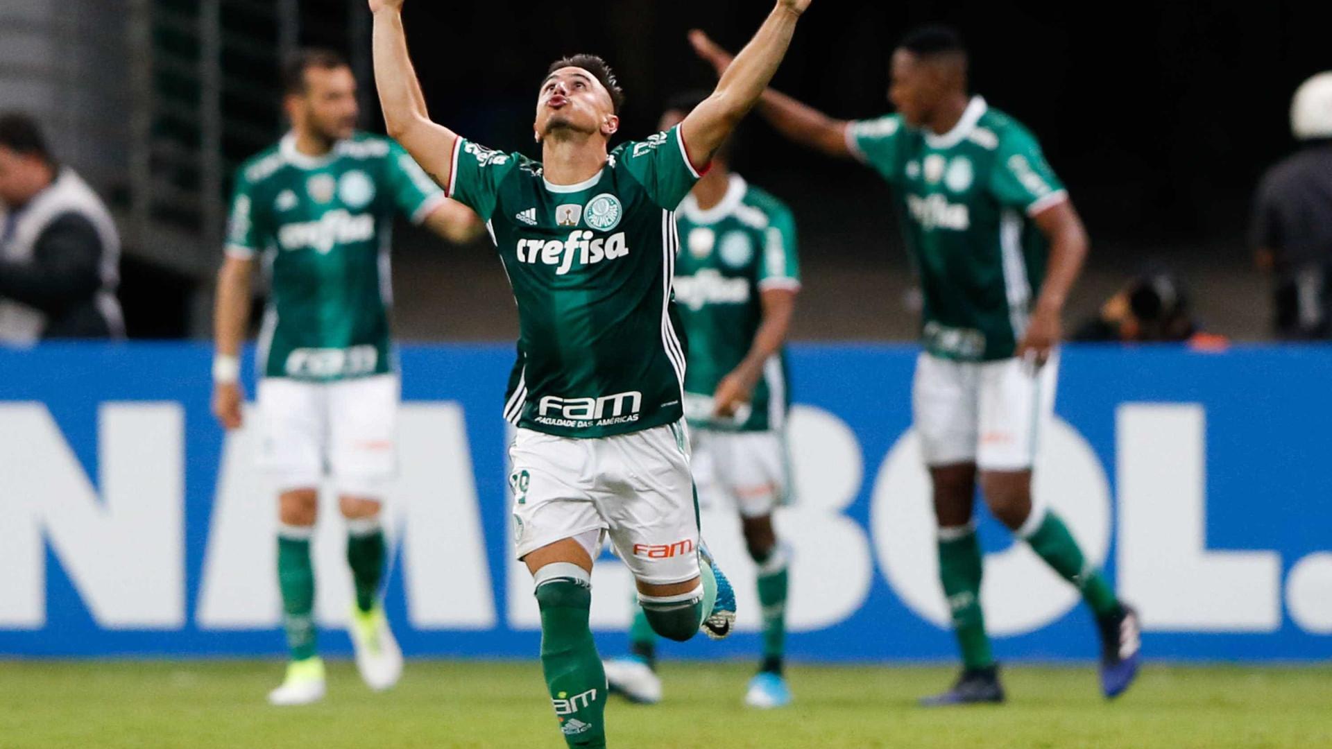 Com time reserva, Palmeiras vence o Sport e é o novo vice-líder