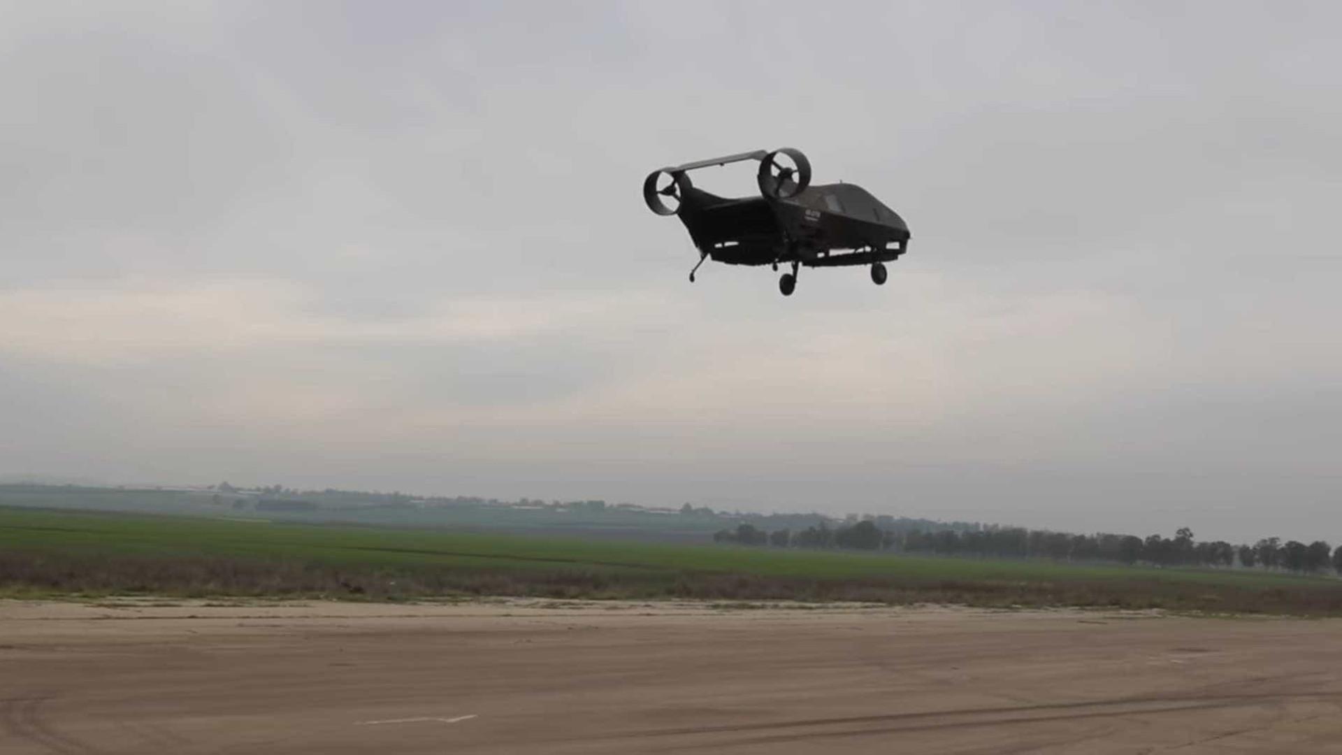 Conheça o carro voador que deve chegar em 2022