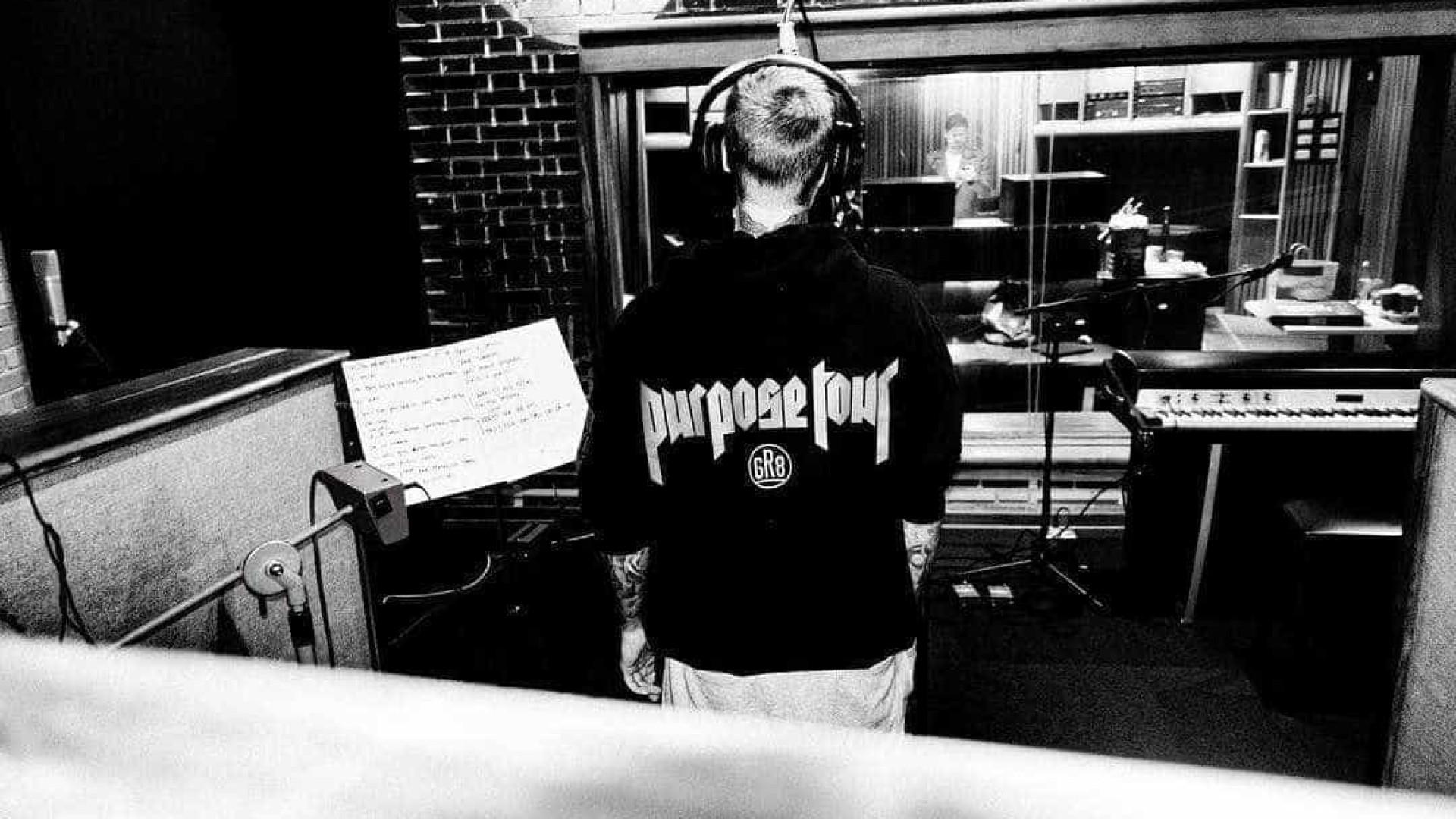 """Justin Bieber canta """"Despacito"""" pela primeira vez em palco"""