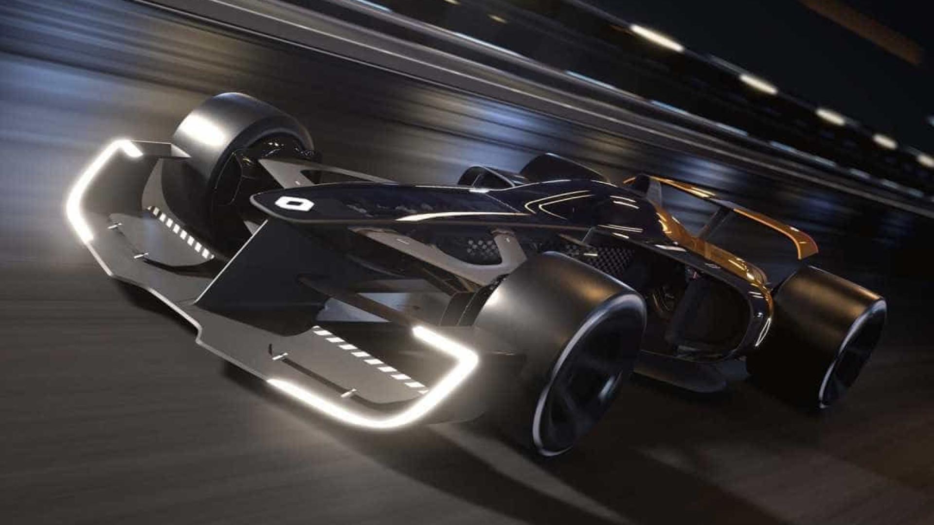 Renault mostra conceito de carro futurista da Fórmula 1; vídeo
