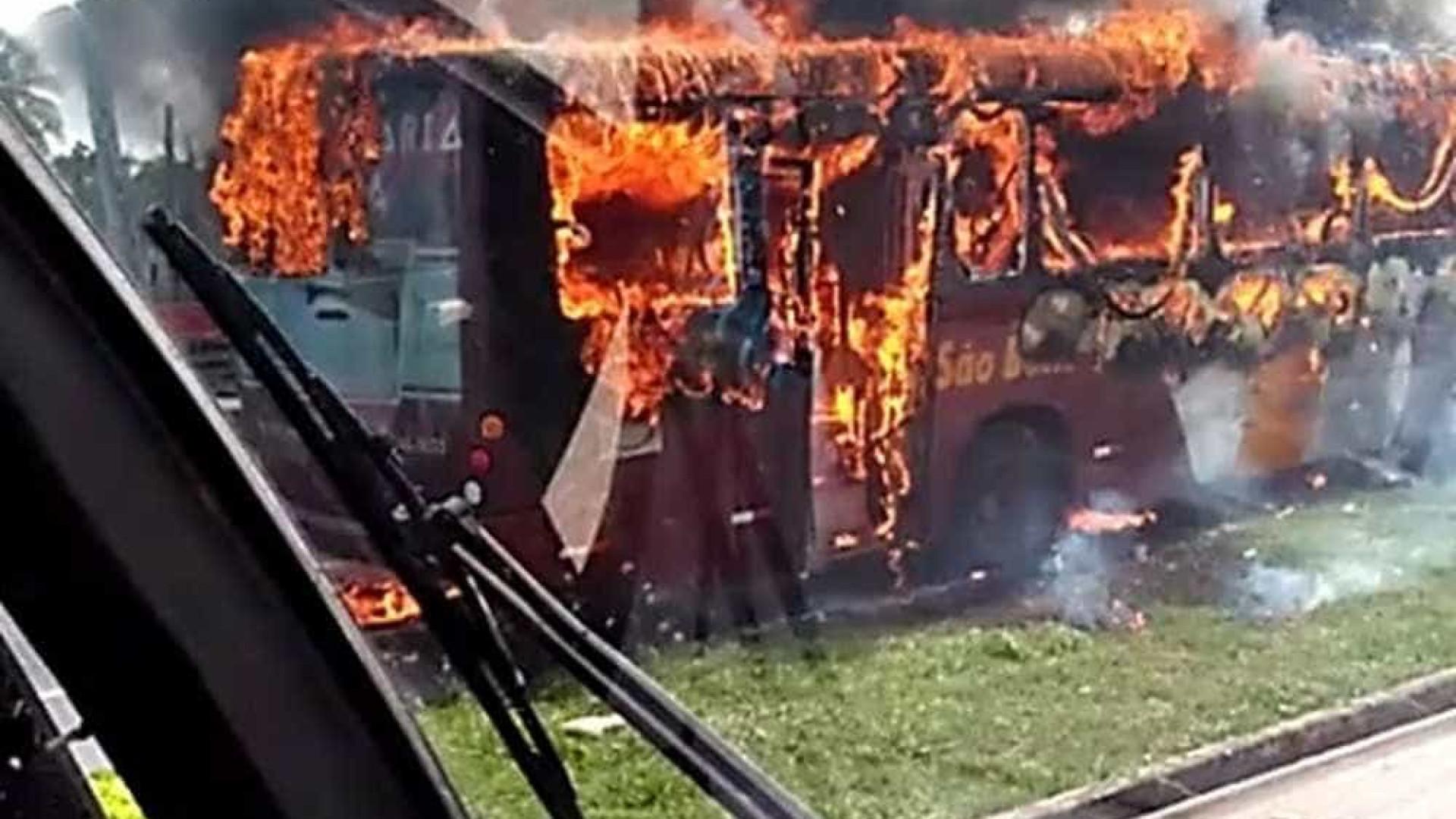 Polícia apreende explosivos próximo a  empresa de ônibus