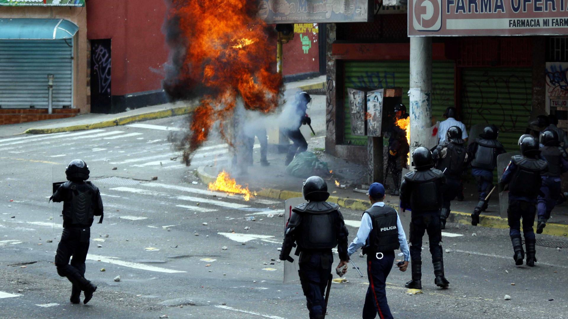 Oposição convoca para hoje novos  protestos na Venezuela