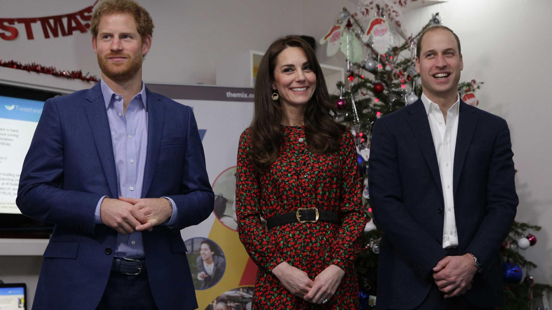 'Ele tem sido brilhante', diz Kate Middleton sobre o cunhado