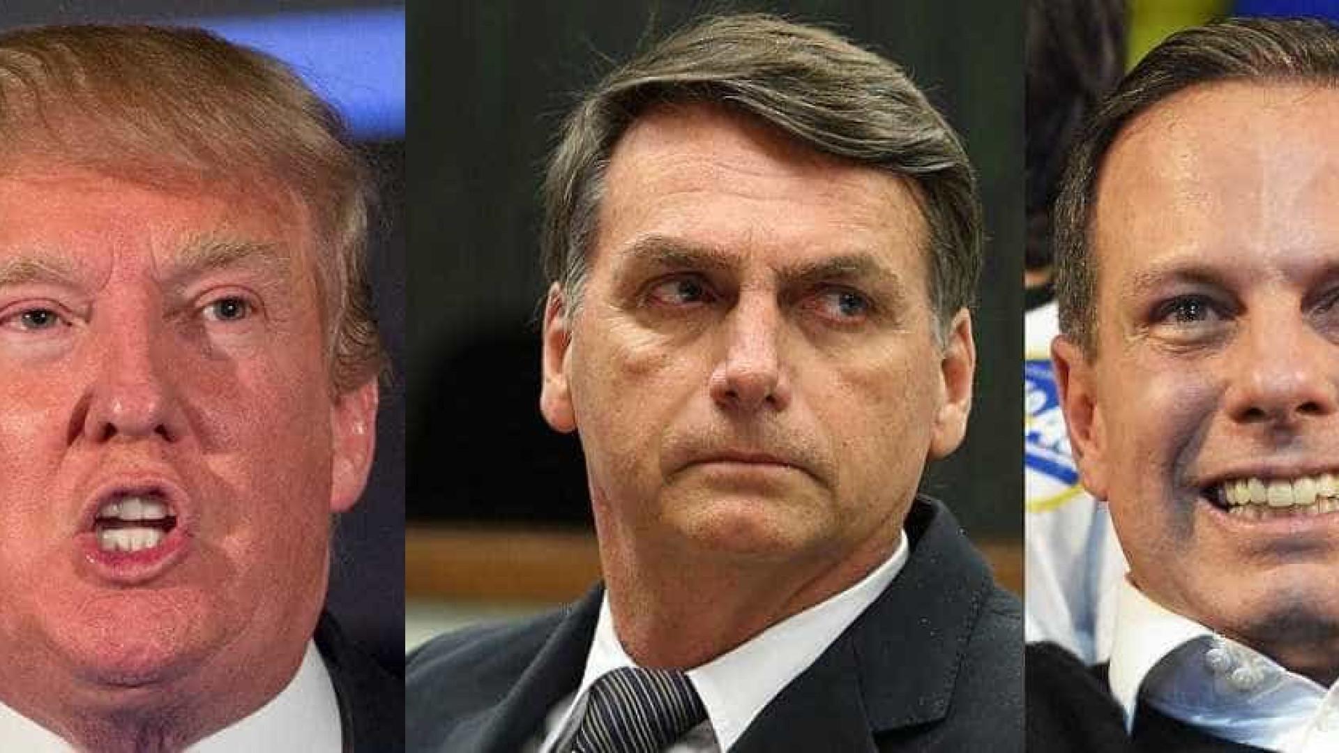Dilma compara Trump a Doria e Bolsonaro