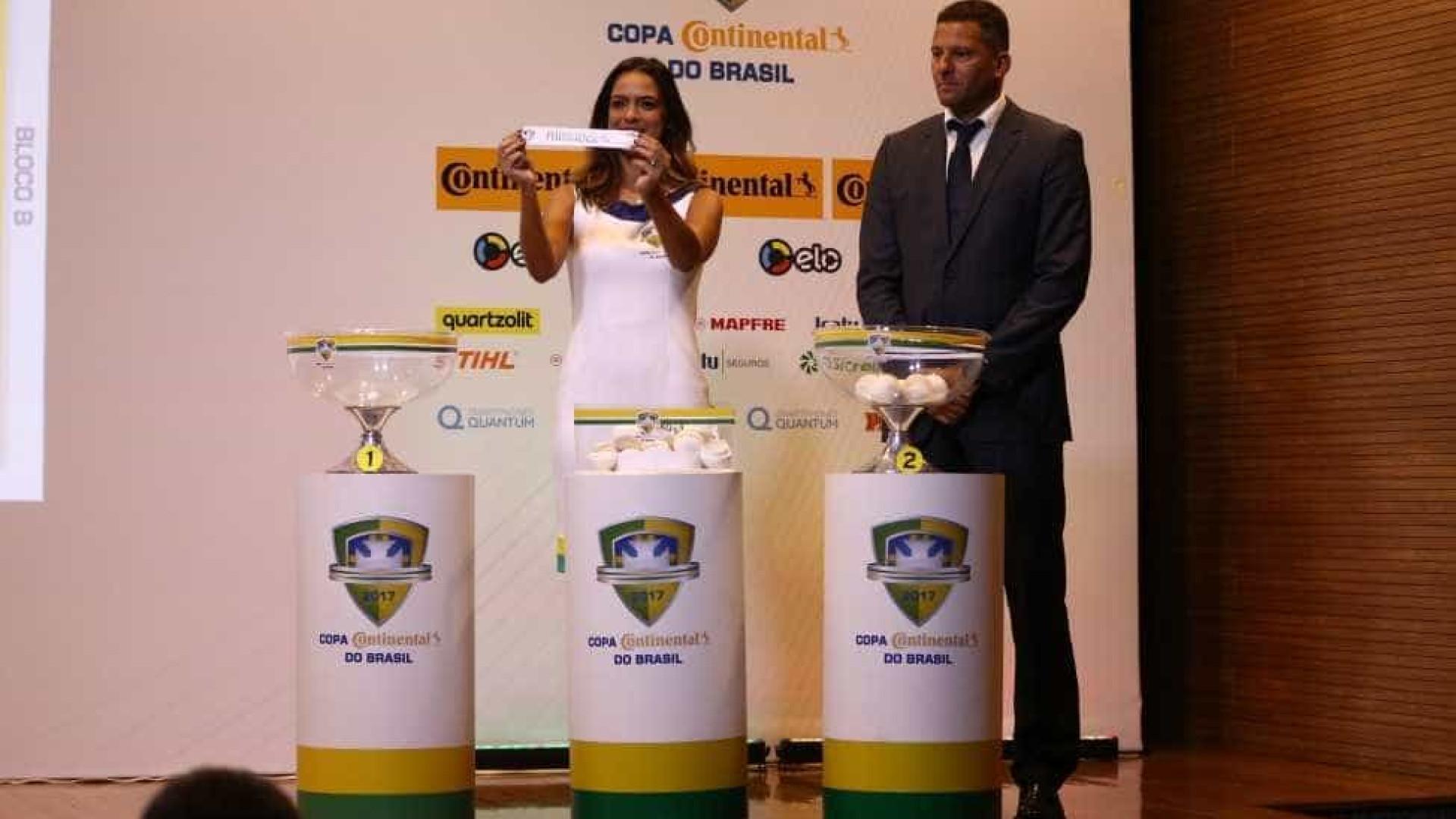 Definidas as oitavas de final da Copa do Brasil; confira os confrontos