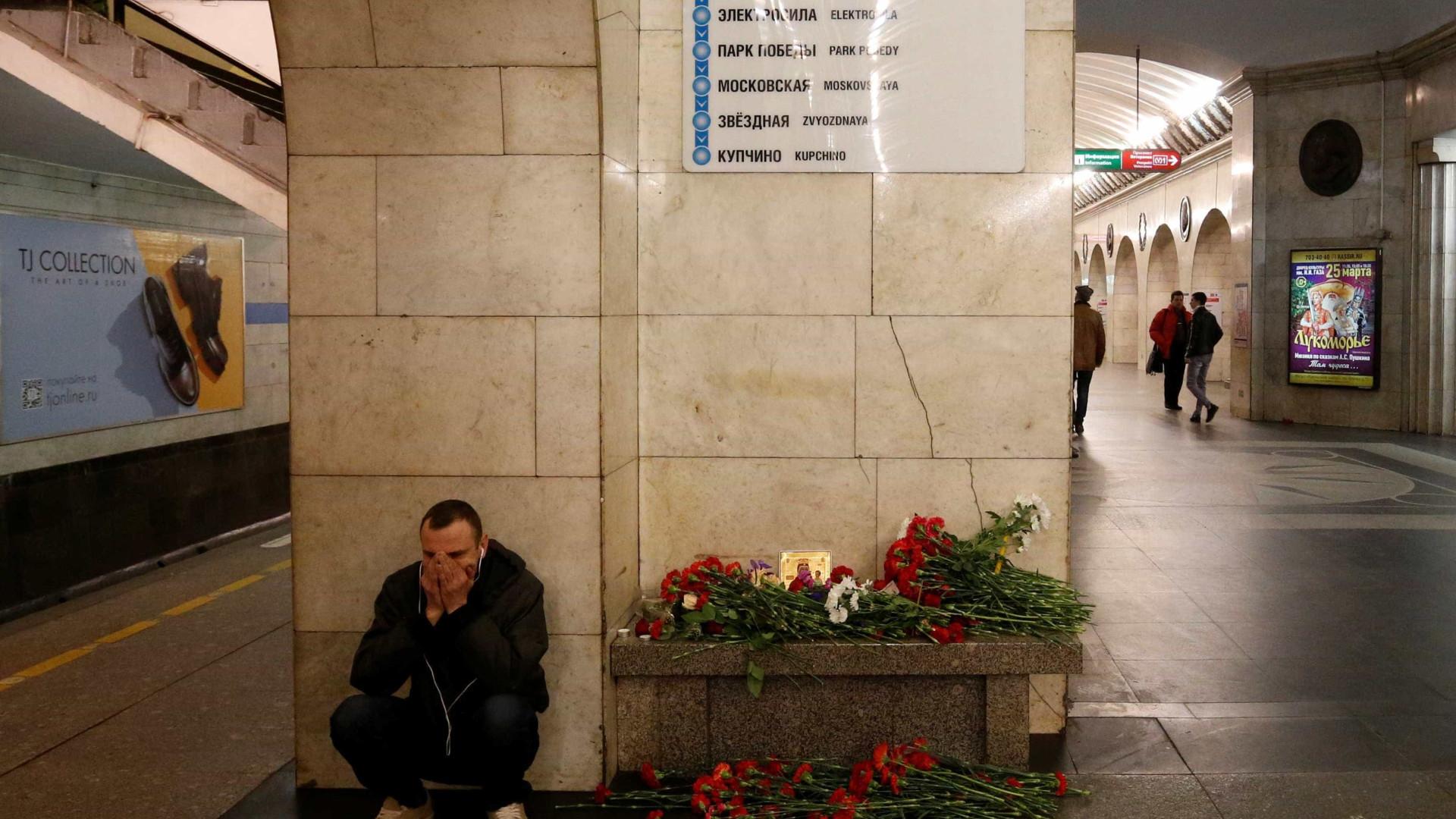 Morre mais uma vítima de atentado no metrô de São Petesburgo