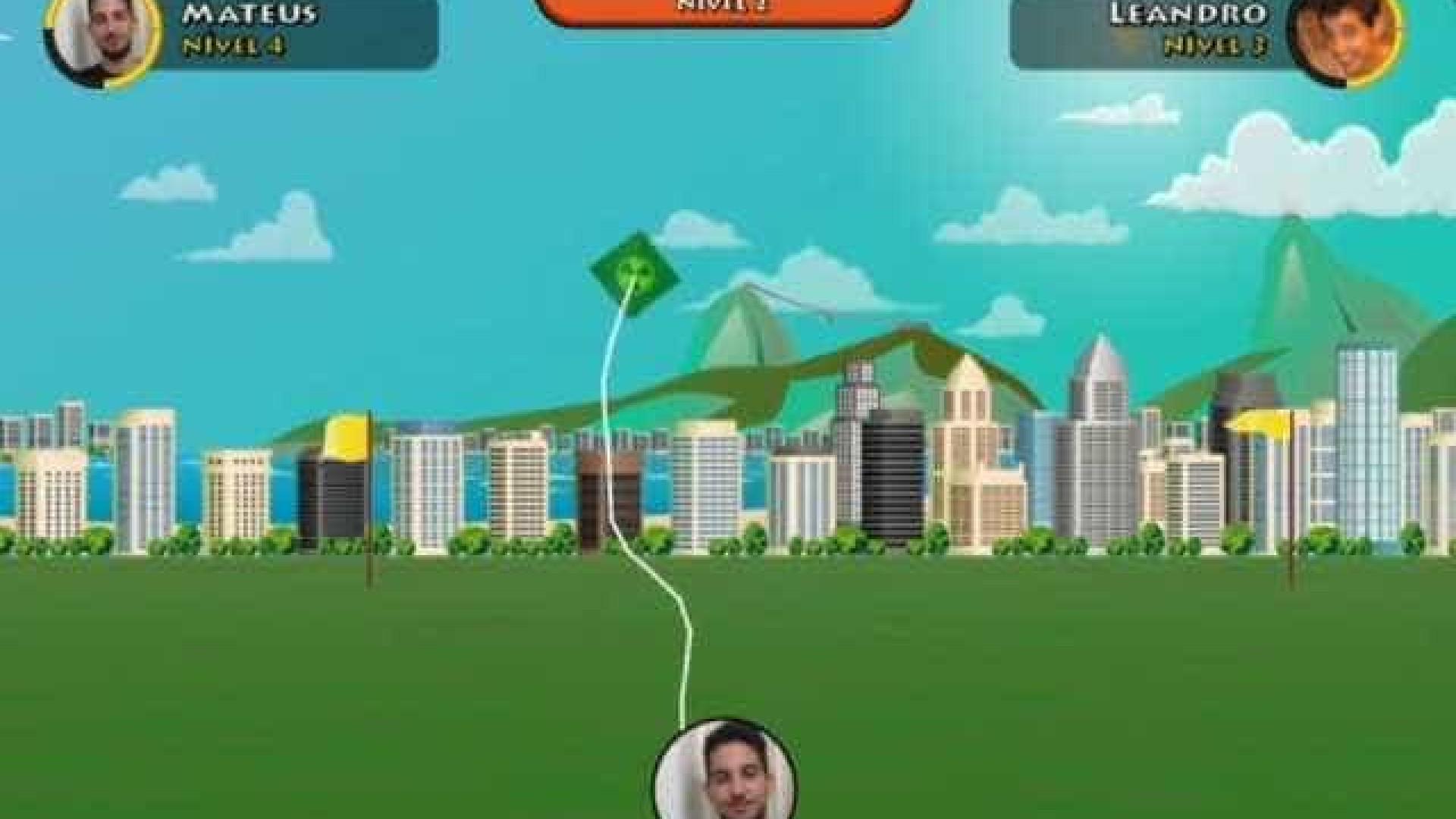 Brasileiros criam game interativo inspirado nas batalhas de pipas