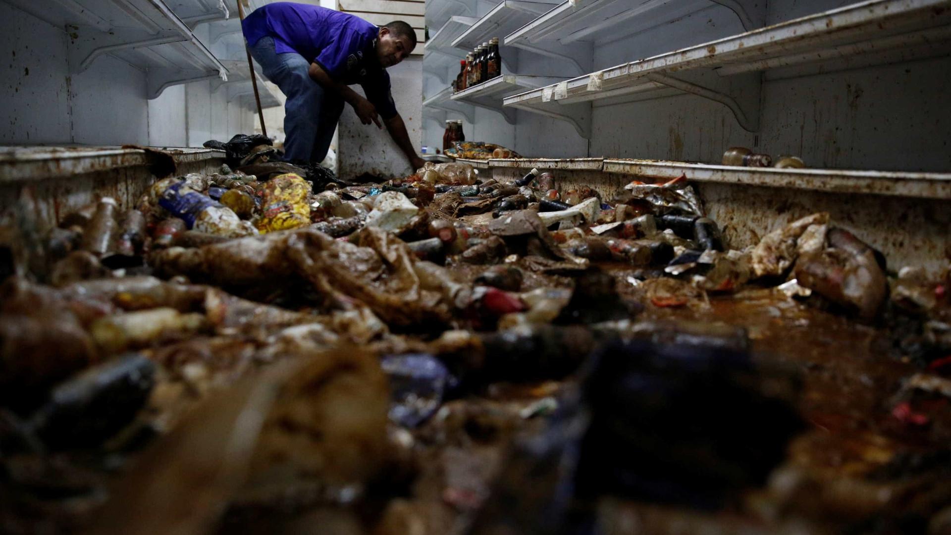 Dez pessoas morrem em saque  a padaria na Venezuela