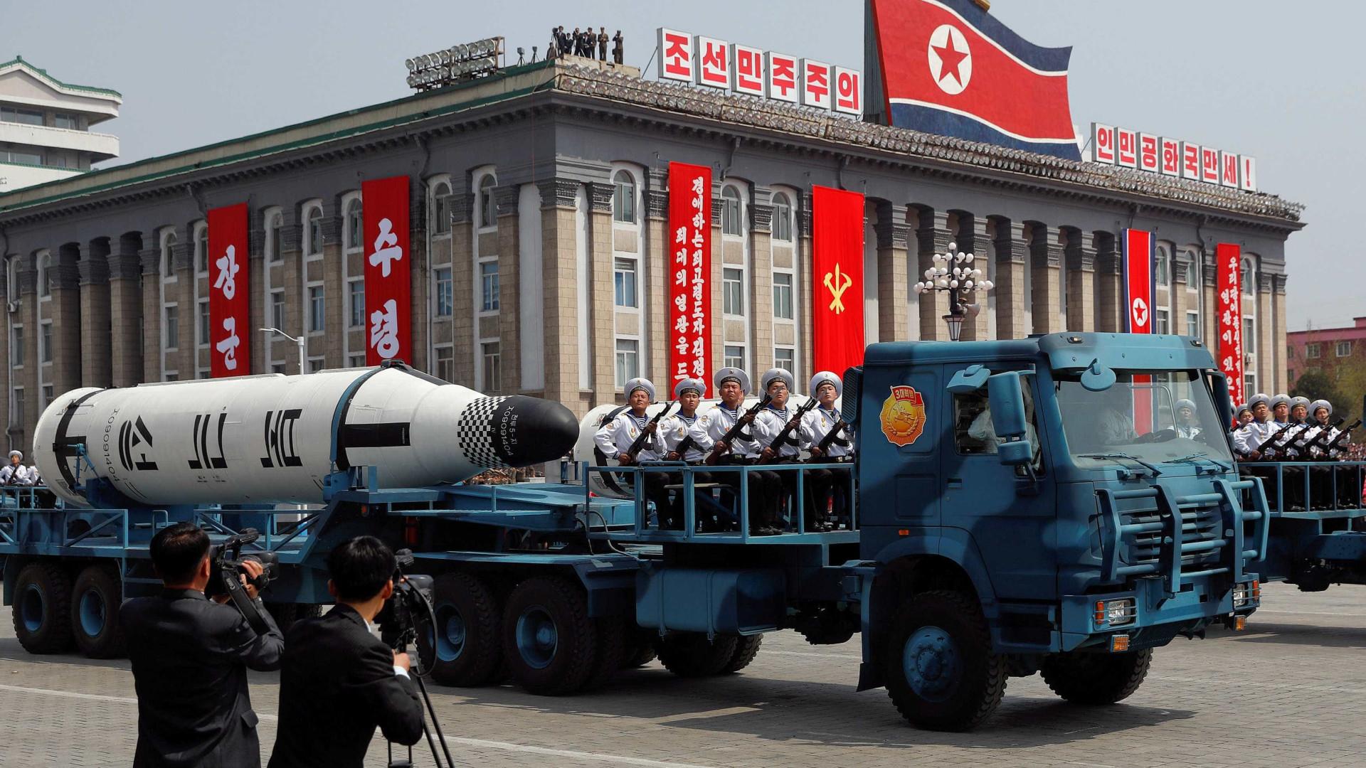 Coreia do Norte volta a falar em 'guerra total' com os EUA