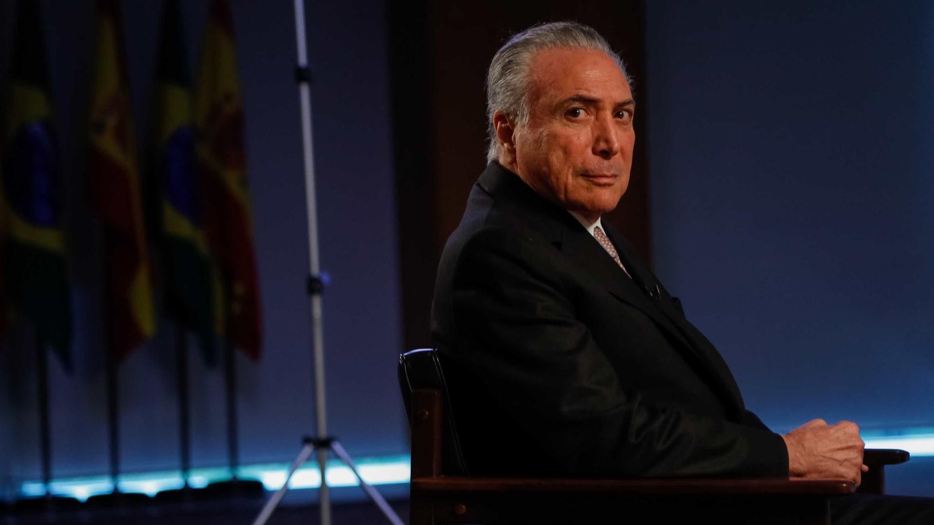 Odebrecht apresenta extratos de propina  negociada com Temer