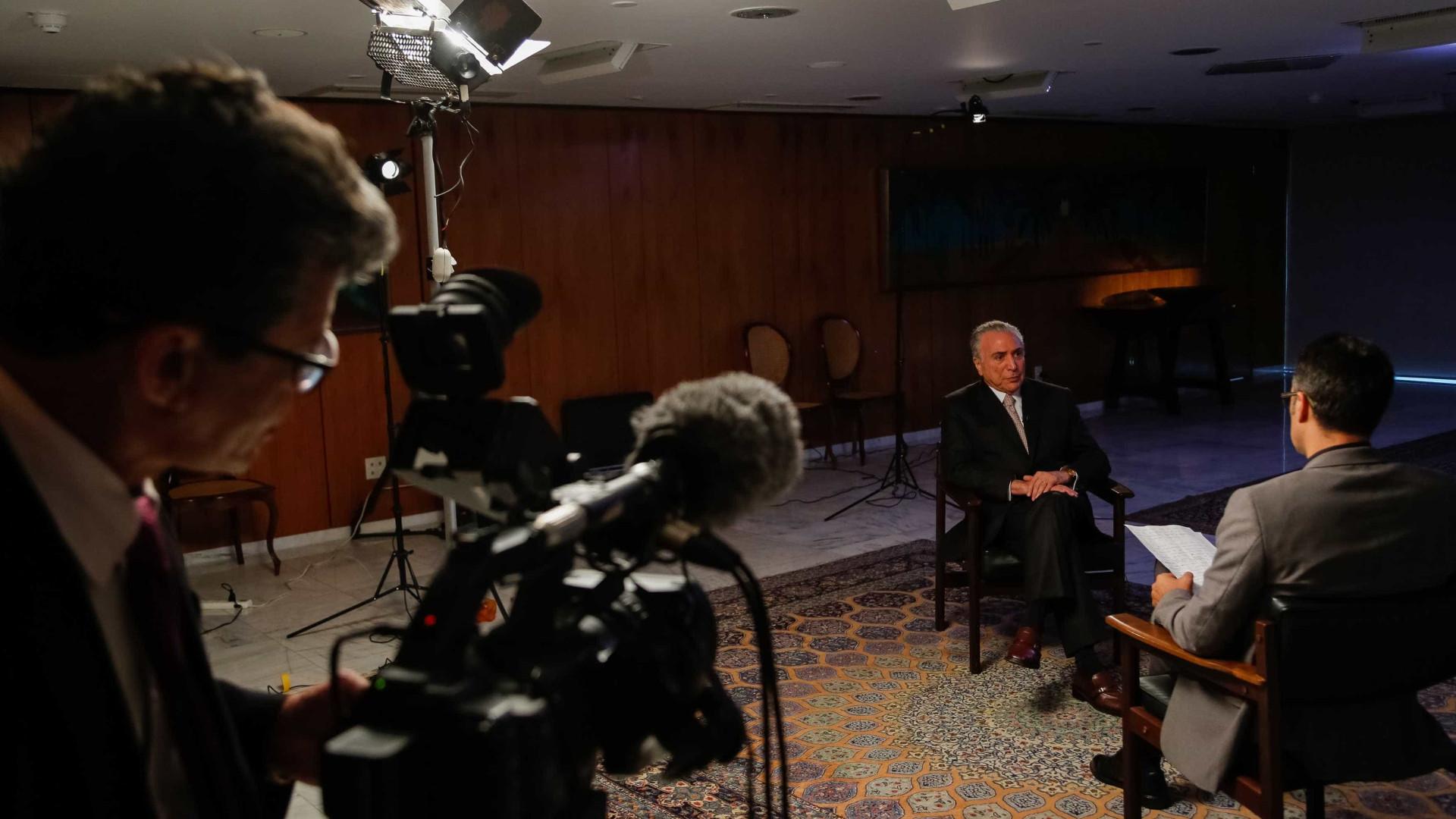 Em vídeo, Temer agradece deputados por reafirmarem compromisso com ele