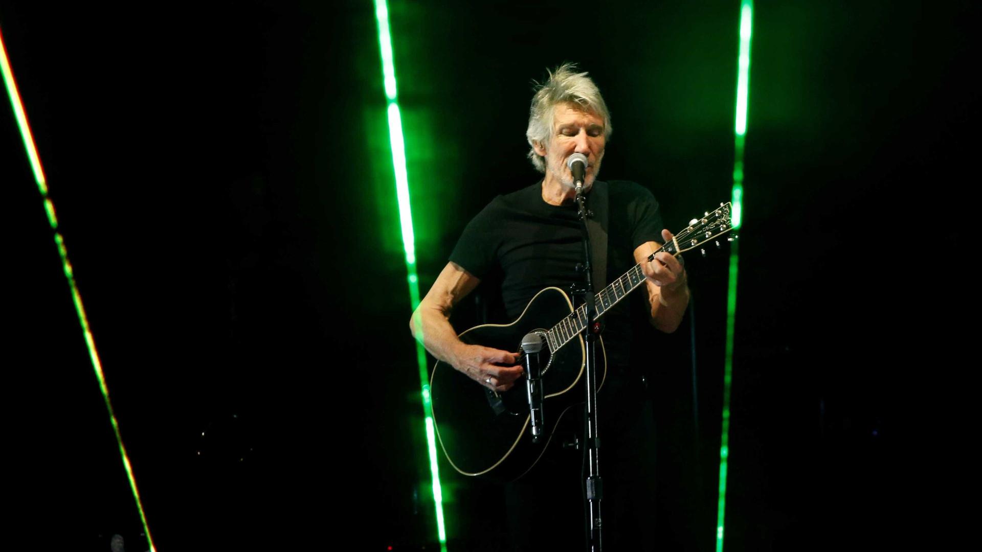 Justiça alerta Roger Waters sobre manifestação política em show