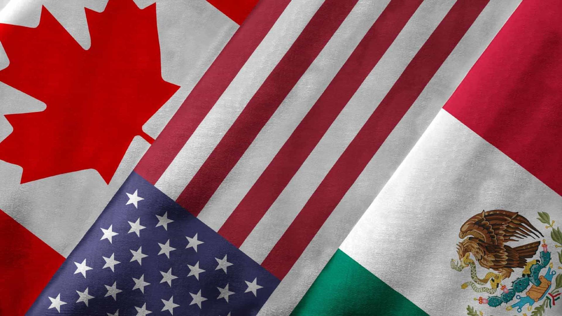 EUA anunciam renegociação de  acordo com México e Canadá