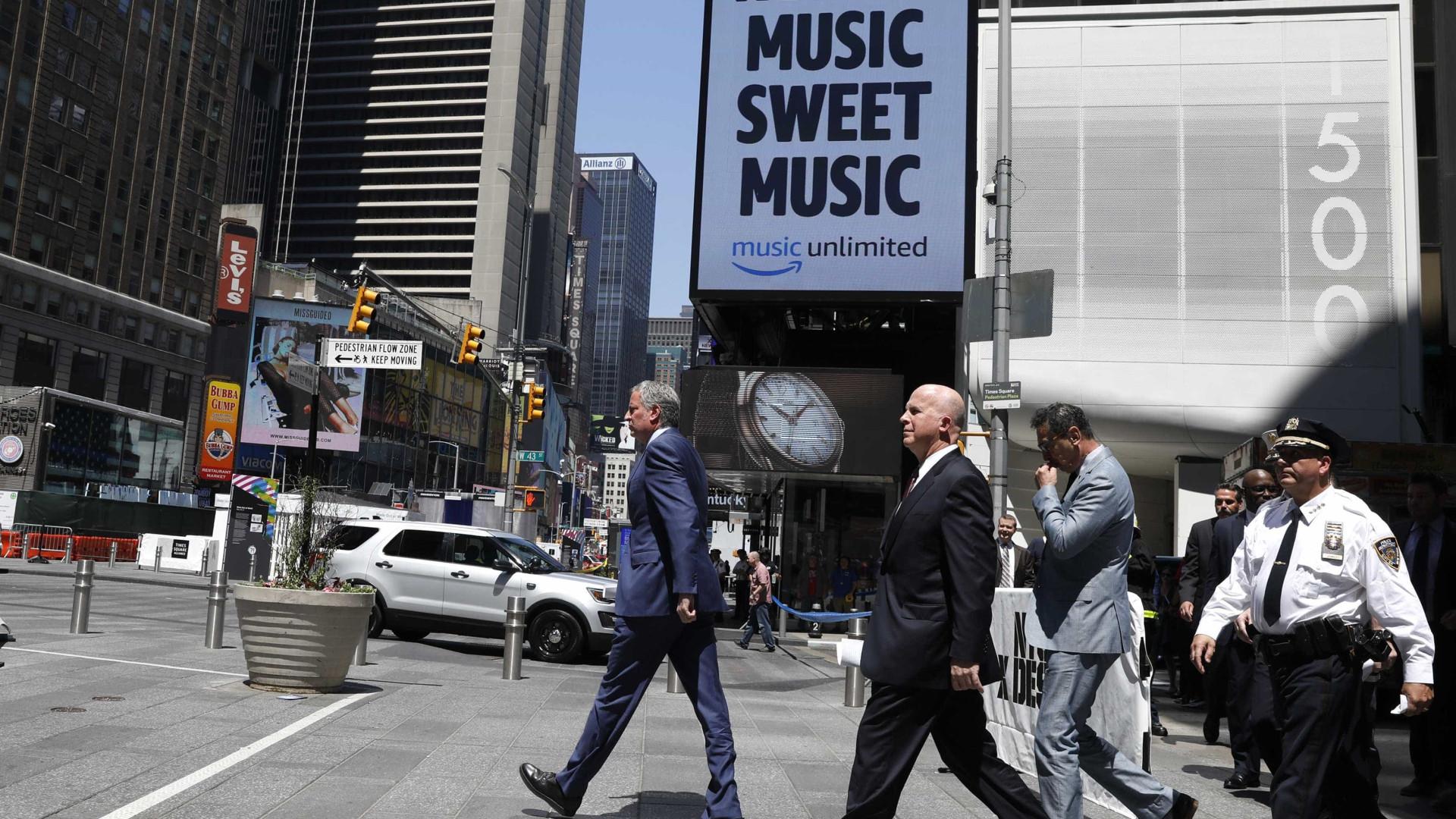 Prefeito de Nova York descarta  terrorismo na Times Square